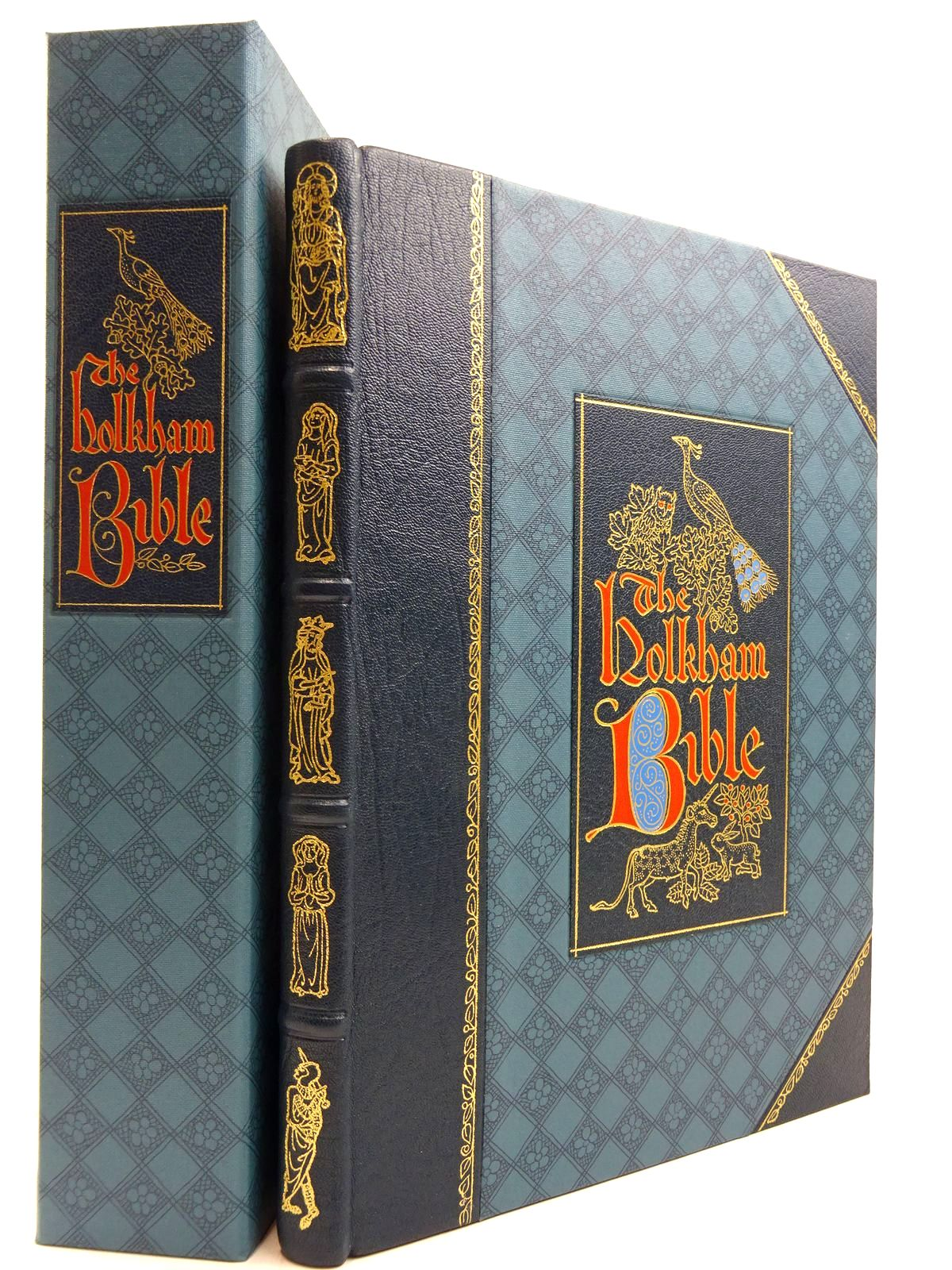 Photo of THE HOLKHAM BIBLE- Stock Number: 2131381