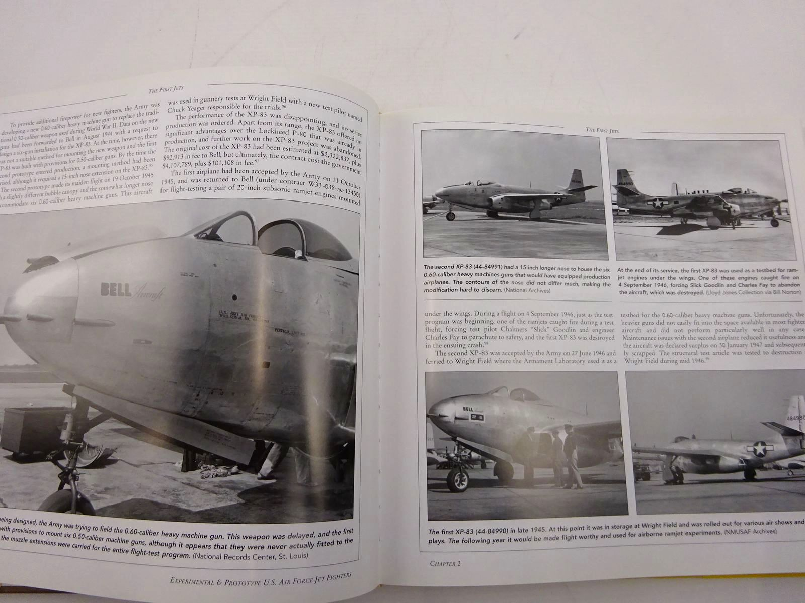 Photo of EXPERIMENTAL & PROTOTYPE U.S. AIR FORCE JET FIGHTERS written by Jenkins, Dennis R.