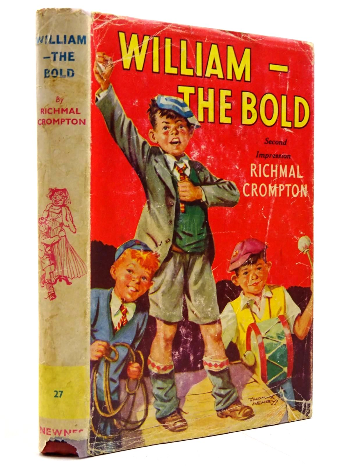 Photo of WILLIAM-THE BOLD written by Crompton, Richmal illustrated by Henry, Thomas published by George Newnes Ltd. (STOCK CODE: 2131417)  for sale by Stella & Rose's Books