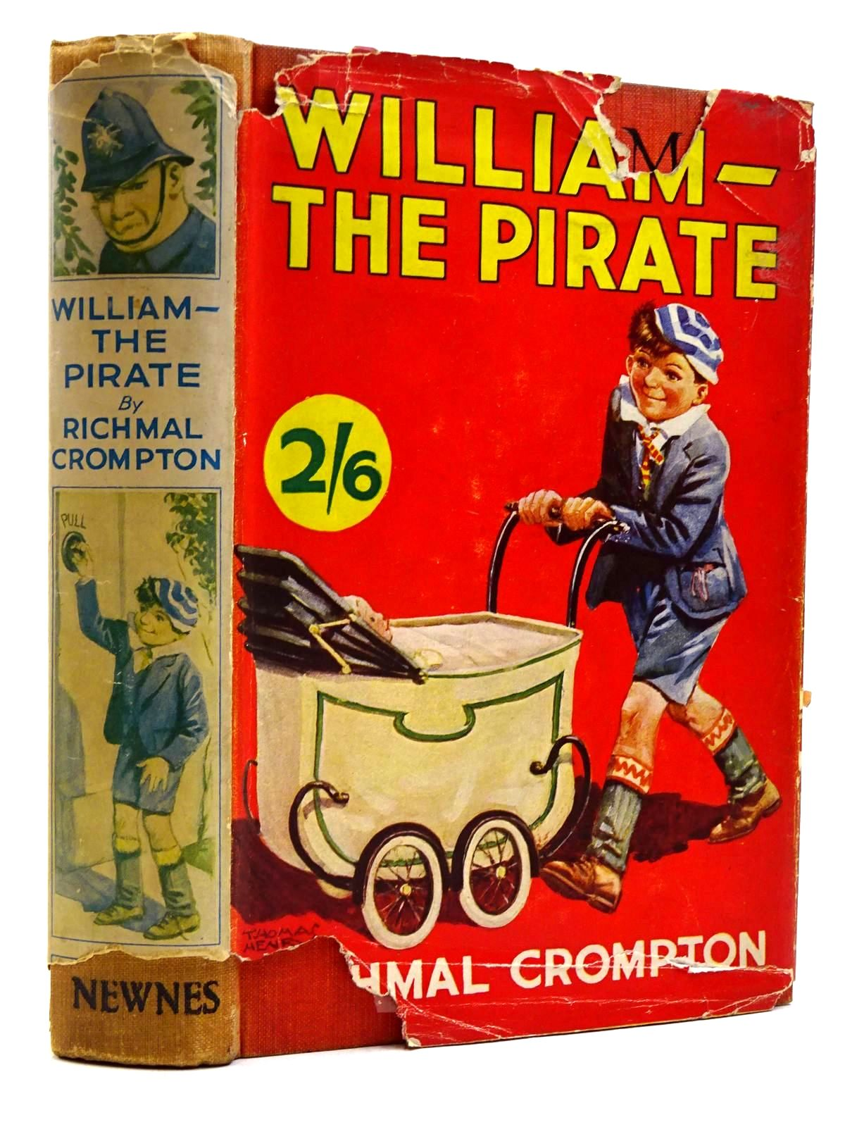 Photo of WILLIAM THE PIRATE written by Crompton, Richmal illustrated by Henry, Thomas published by George Newnes Limited (STOCK CODE: 2131418)  for sale by Stella & Rose's Books