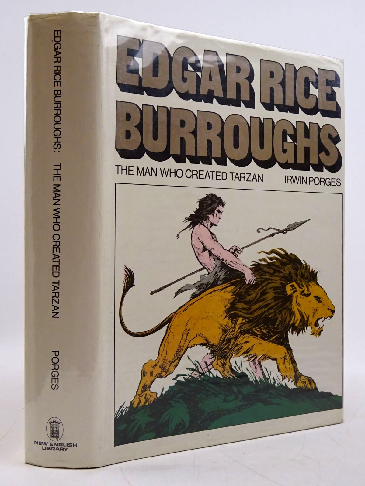 Photo of EDGAR RICE BURROUGHS written by Porges, Irwin published by New English Library (STOCK CODE: 2131433)  for sale by Stella & Rose's Books