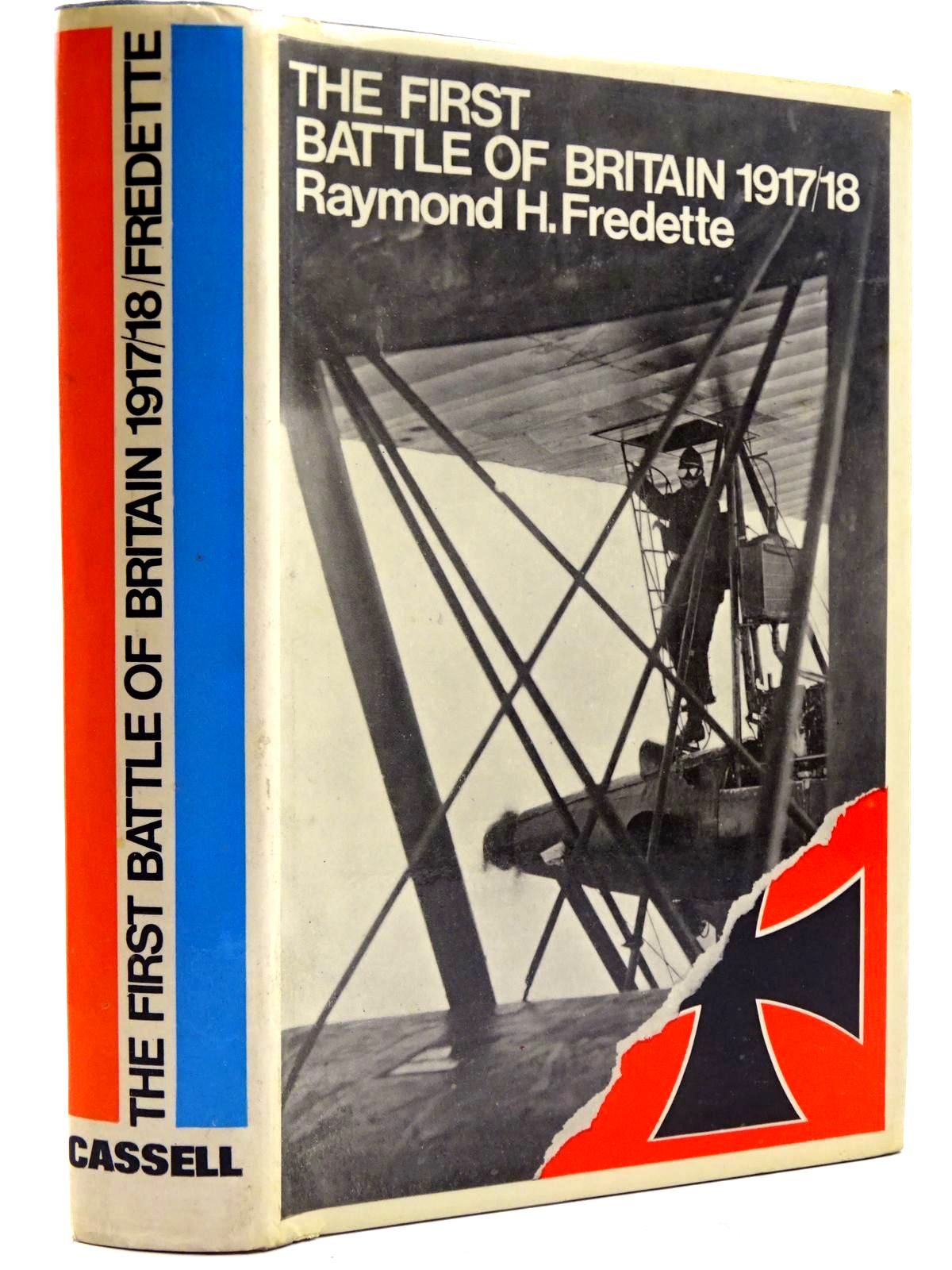 Photo of THE FIRST BATTLE OF BRITAIN 1917-1918 written by Fredette, Raymond H. published by Cassell (STOCK CODE: 2131464)  for sale by Stella & Rose's Books