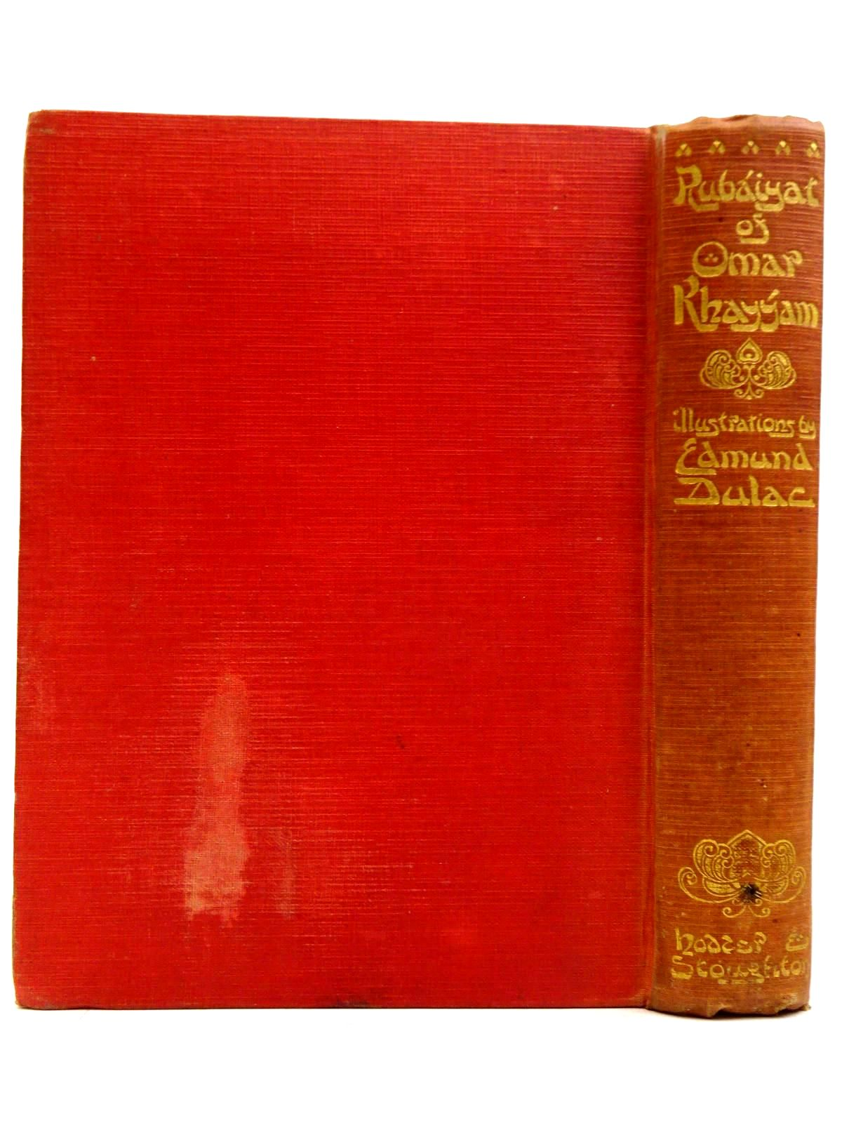 Photo of RUBAIYAT OF OMAR KHAYYAM written by Fitzgerald, Edward illustrated by Dulac, Edmund published by Hodder & Stoughton (STOCK CODE: 2131555)  for sale by Stella & Rose's Books
