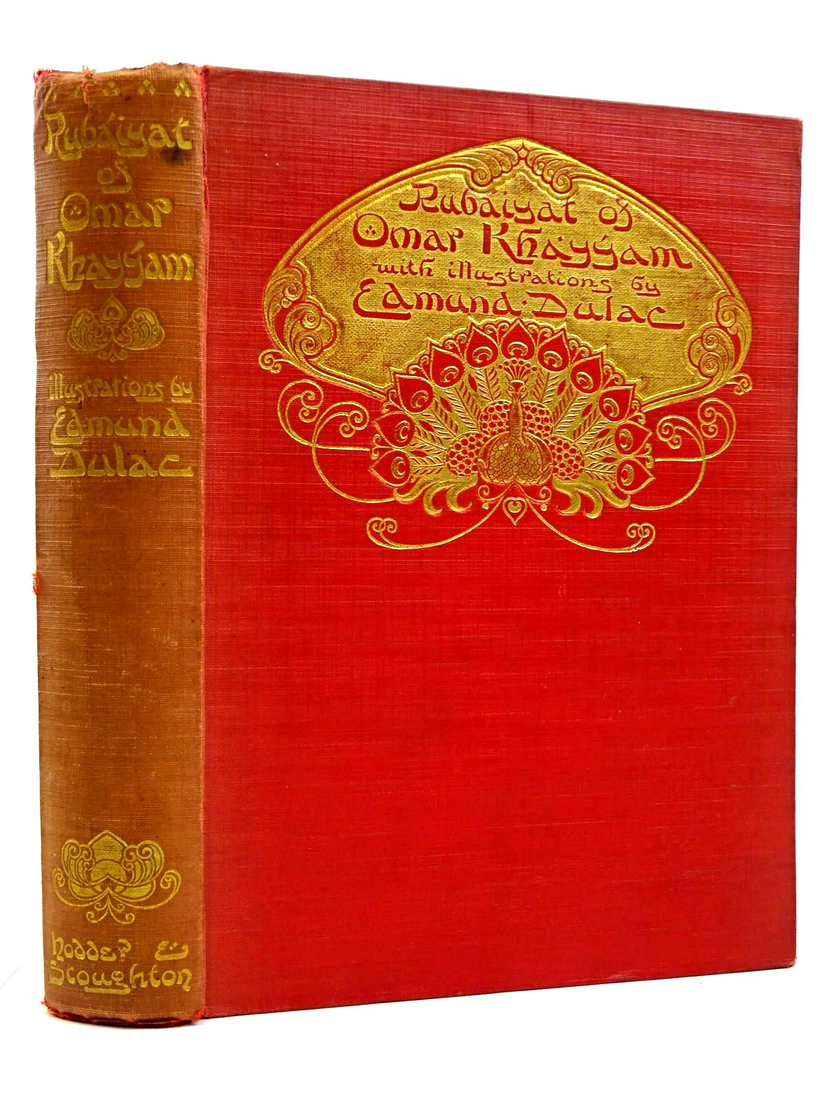Photo of RUBAIYAT OF OMAR KHAYYAM written by Khayyam, Omar Fitzgerald, Edward illustrated by Dulac, Edmund published by Hodder & Stoughton (STOCK CODE: 2131567)  for sale by Stella & Rose's Books