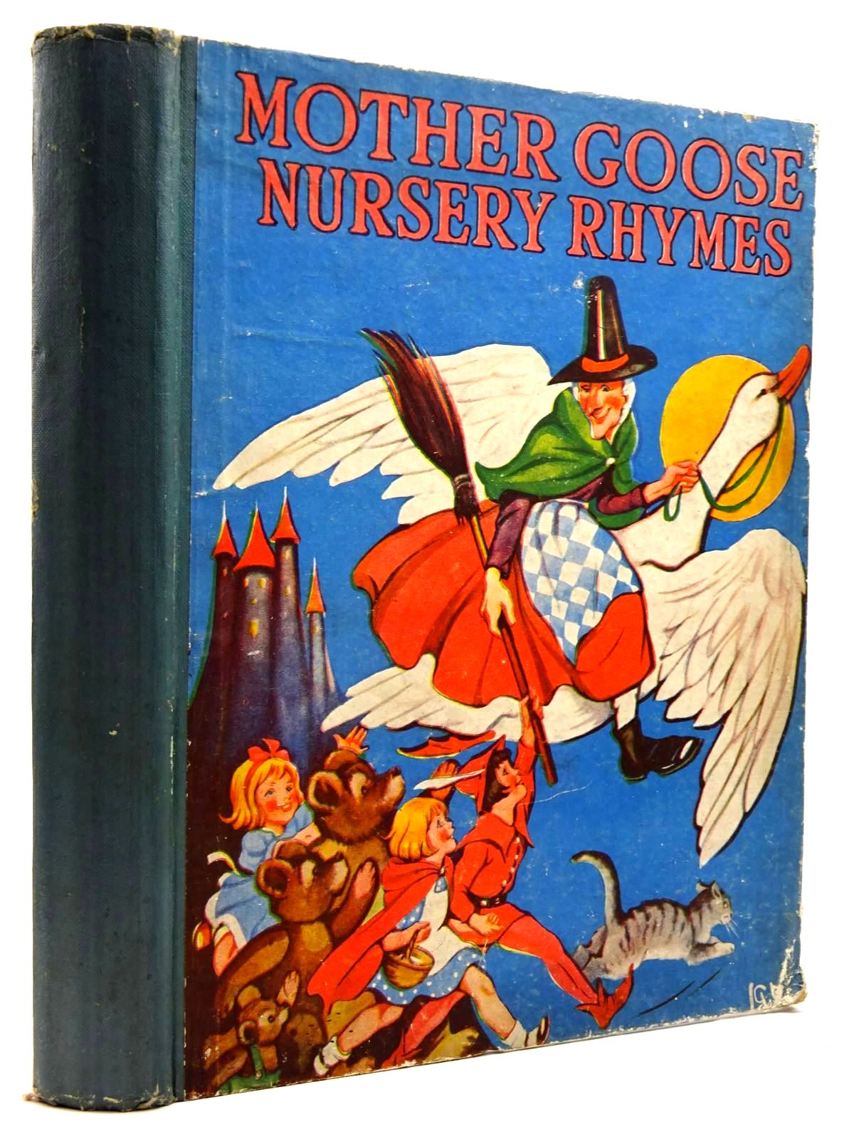 Photo of MOTHER GOOSE NURSERY RHYMES illustrated by Robinson, Charles published by The Children's Press (STOCK CODE: 2131616)  for sale by Stella & Rose's Books