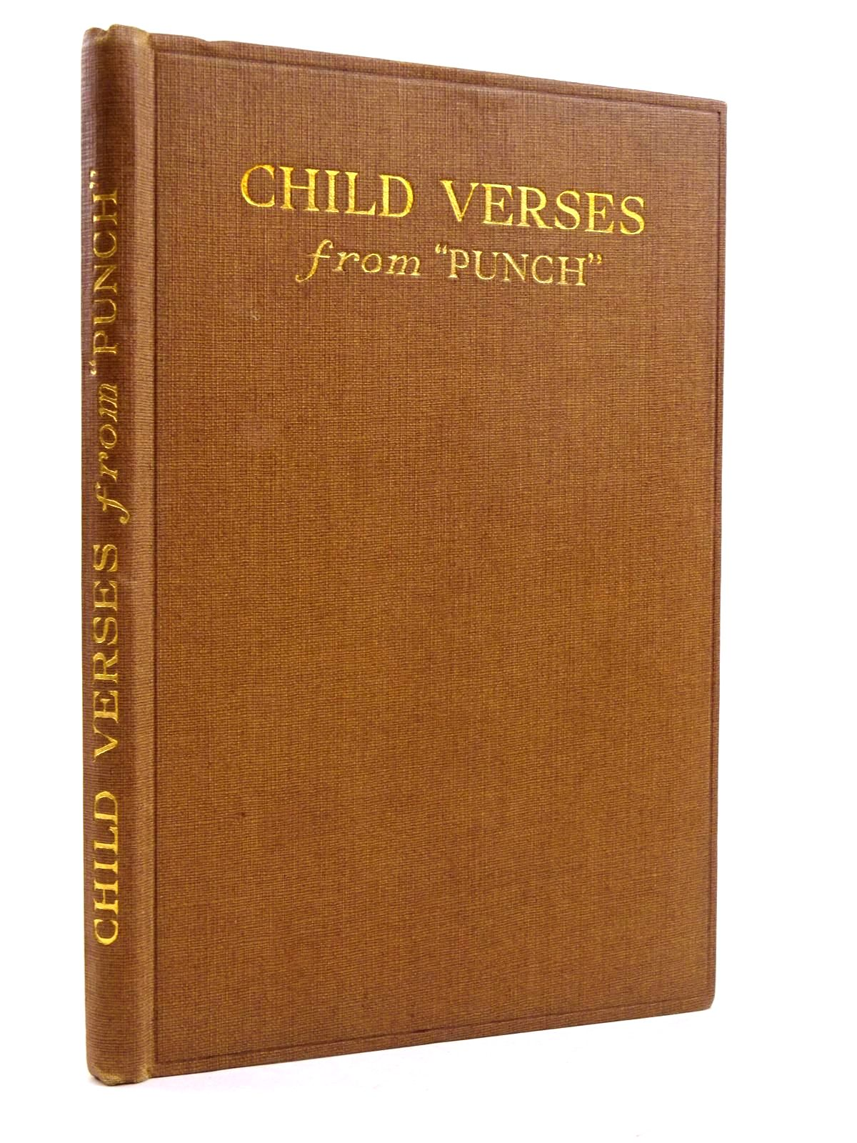 Photo of CHILD VERSES FROM 'PUNCH' written by Greenland, George Farjeon, Eleanor Talbot, Ethel et al,  illustrated by Chase, Phyllis published by J. Saville & Co. Ltd. (STOCK CODE: 2131626)  for sale by Stella & Rose's Books