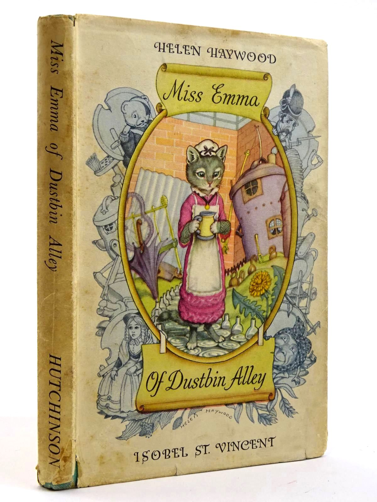 Photo of MISS EMMA OF DUSTBIN ALLEY written by St. Vincent, Isobel illustrated by Haywood, Helen published by Hutchinson's Books for Young People (STOCK CODE: 2131640)  for sale by Stella & Rose's Books