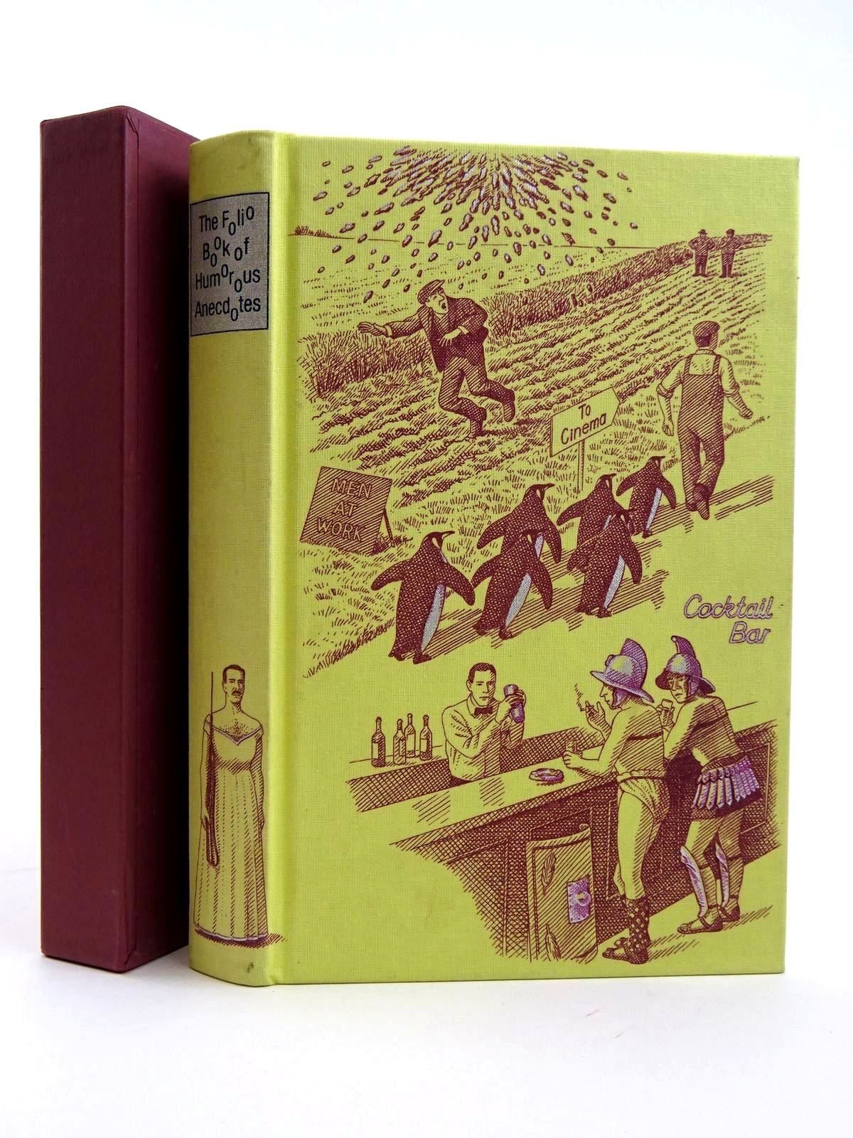 Photo of THE FOLIO BOOK OF HUMOROUS ANECDOTES written by Leeson, Edward illustrated by Hardcastle, Nick published by Folio Society (STOCK CODE: 2131644)  for sale by Stella & Rose's Books