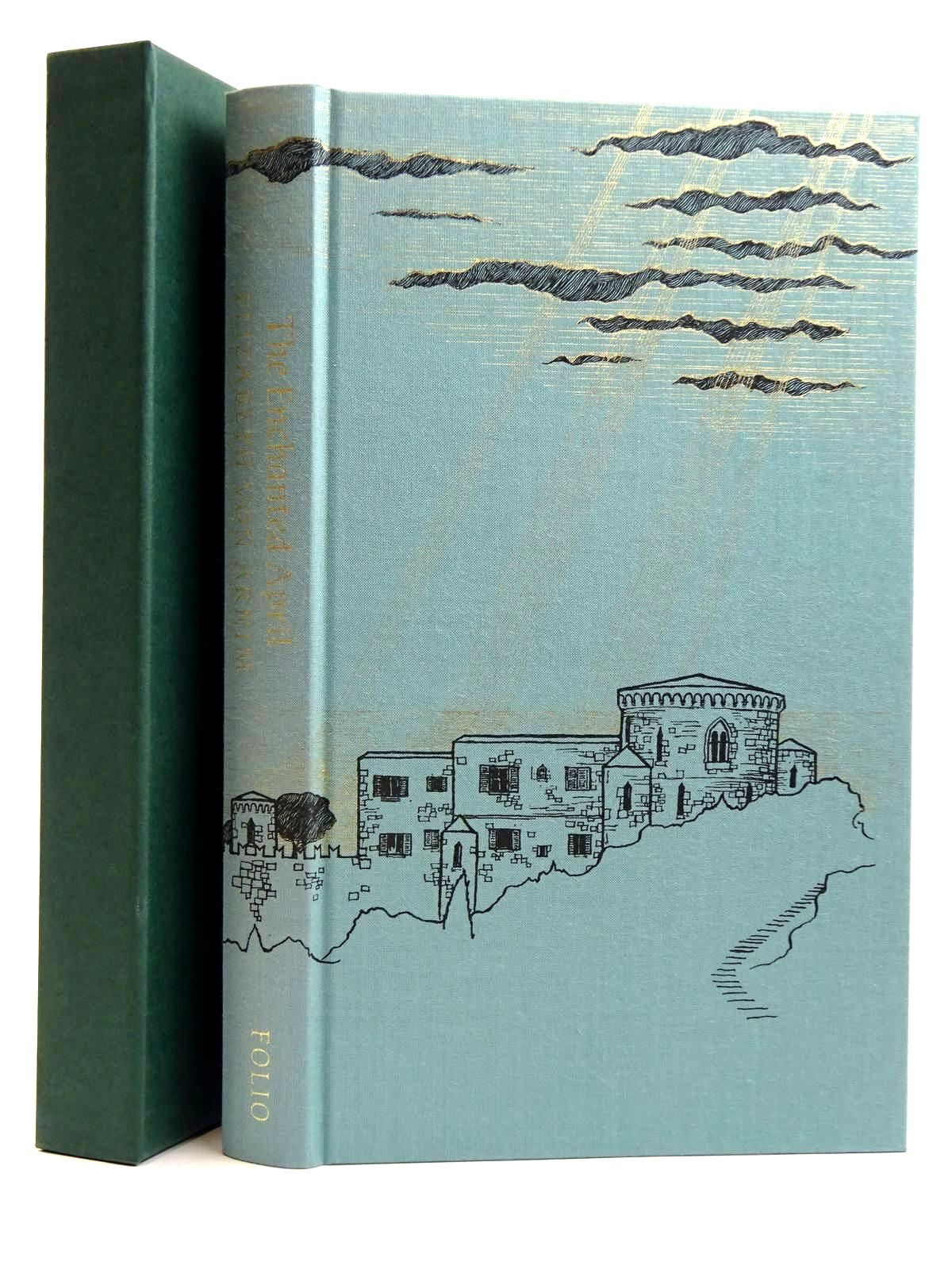 Photo of THE ENCHANTED APRIL written by Von Arnim, Elizabeth Howard, Elizabeth Jane illustrated by McFarlane, Debra published by Folio Society (STOCK CODE: 2131648)  for sale by Stella & Rose's Books