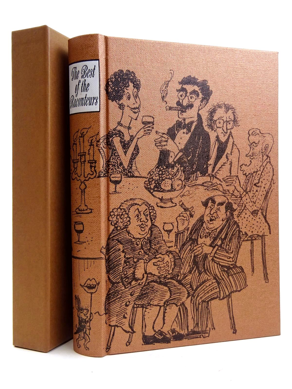 Photo of THE BEST OF THE RACONTEURS written by Morley, Sheridan Heald, Tim illustrated by Lawrence, John published by Folio Society (STOCK CODE: 2131652)  for sale by Stella & Rose's Books