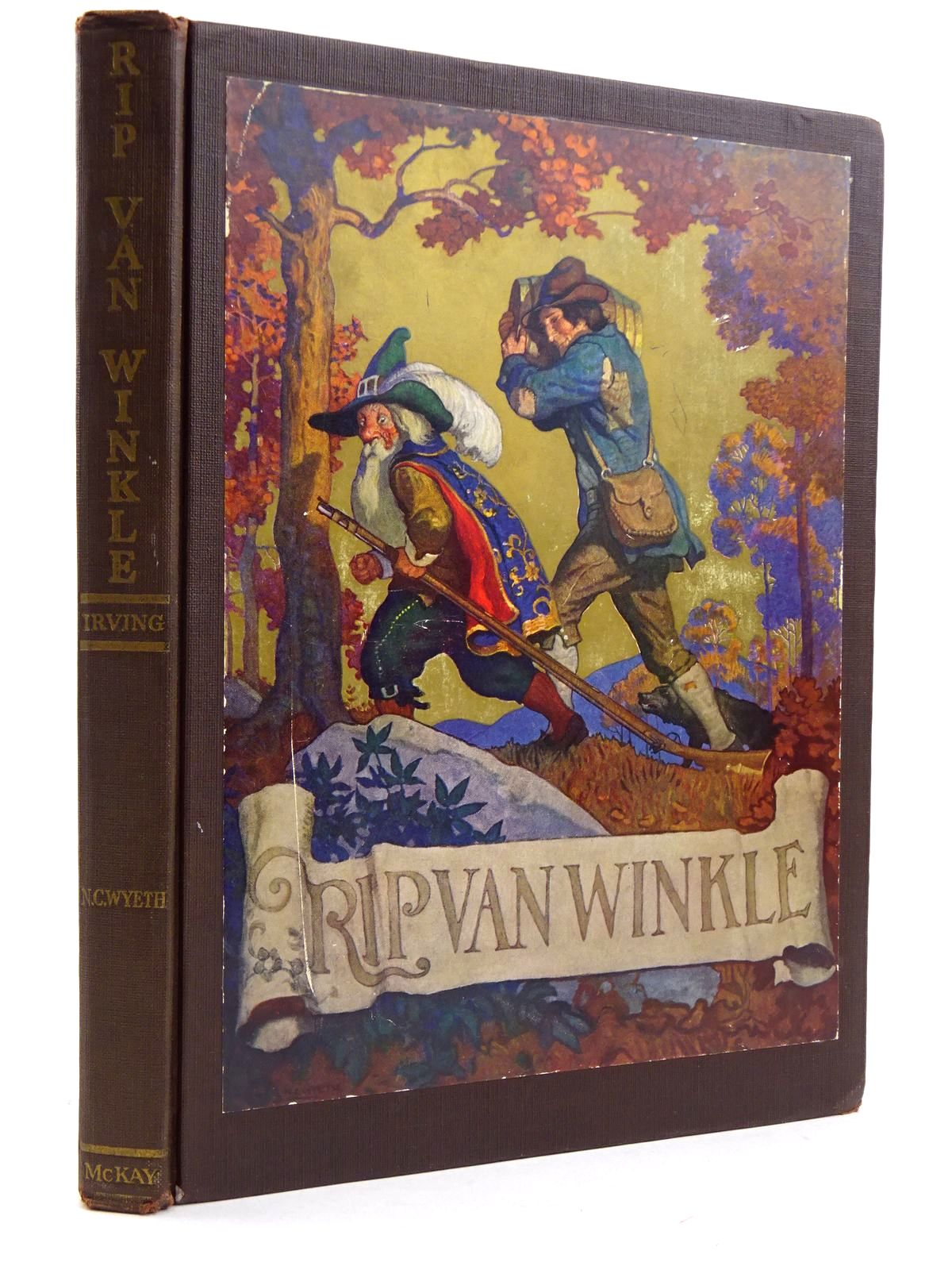 Photo of RIP VAN WINKLE written by Irving, Washington illustrated by Wyeth, N.C. published by David McKay Company (STOCK CODE: 2131665)  for sale by Stella & Rose's Books