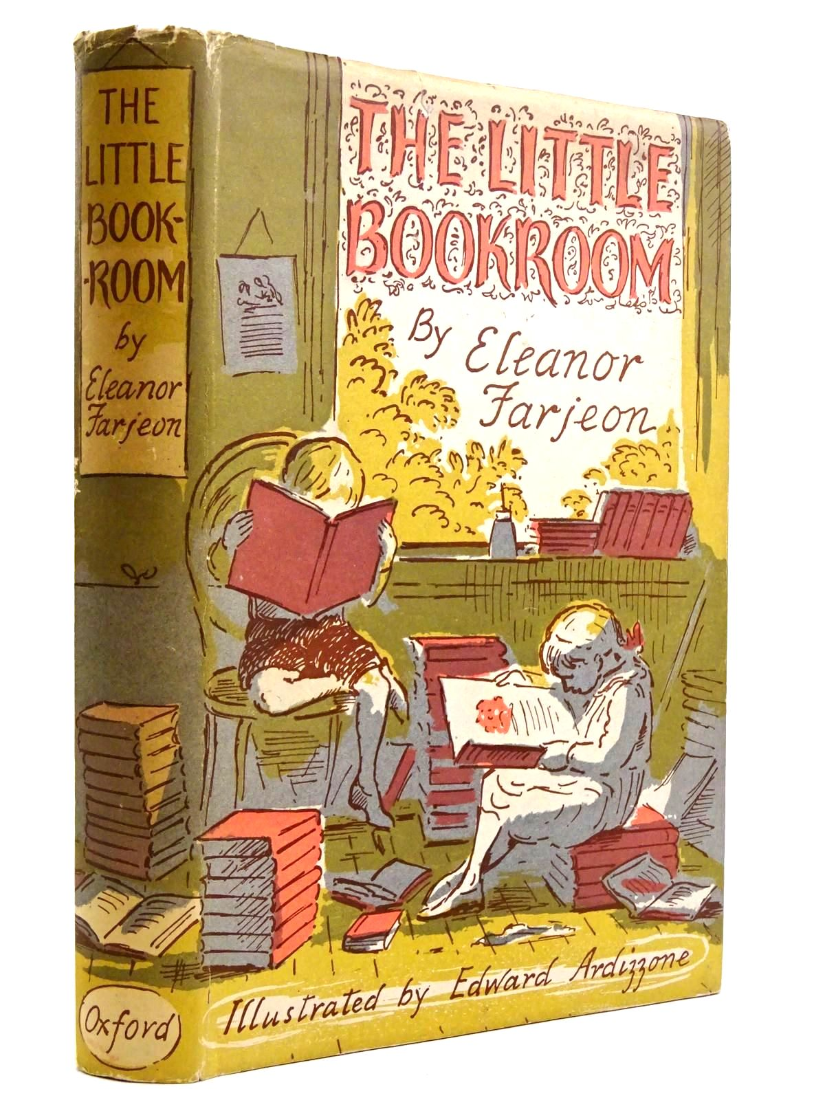 Photo of THE LITTLE BOOKROOM written by Farjeon, Eleanor illustrated by Ardizzone, Edward published by Oxford University Press (STOCK CODE: 2131668)  for sale by Stella & Rose's Books