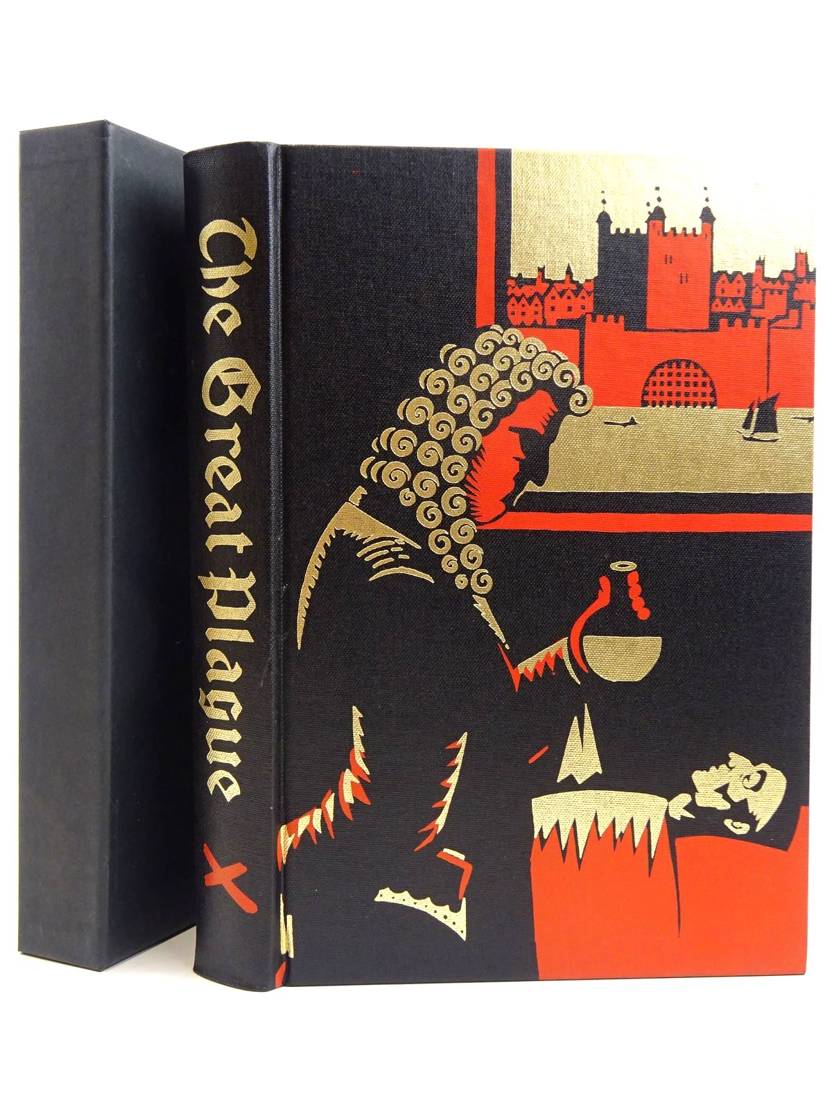 Photo of THE GREAT PLAGUE IN LONDON written by Bell, Walter George illustrated by Hollyer, Belinda published by Folio Society (STOCK CODE: 2131680)  for sale by Stella & Rose's Books