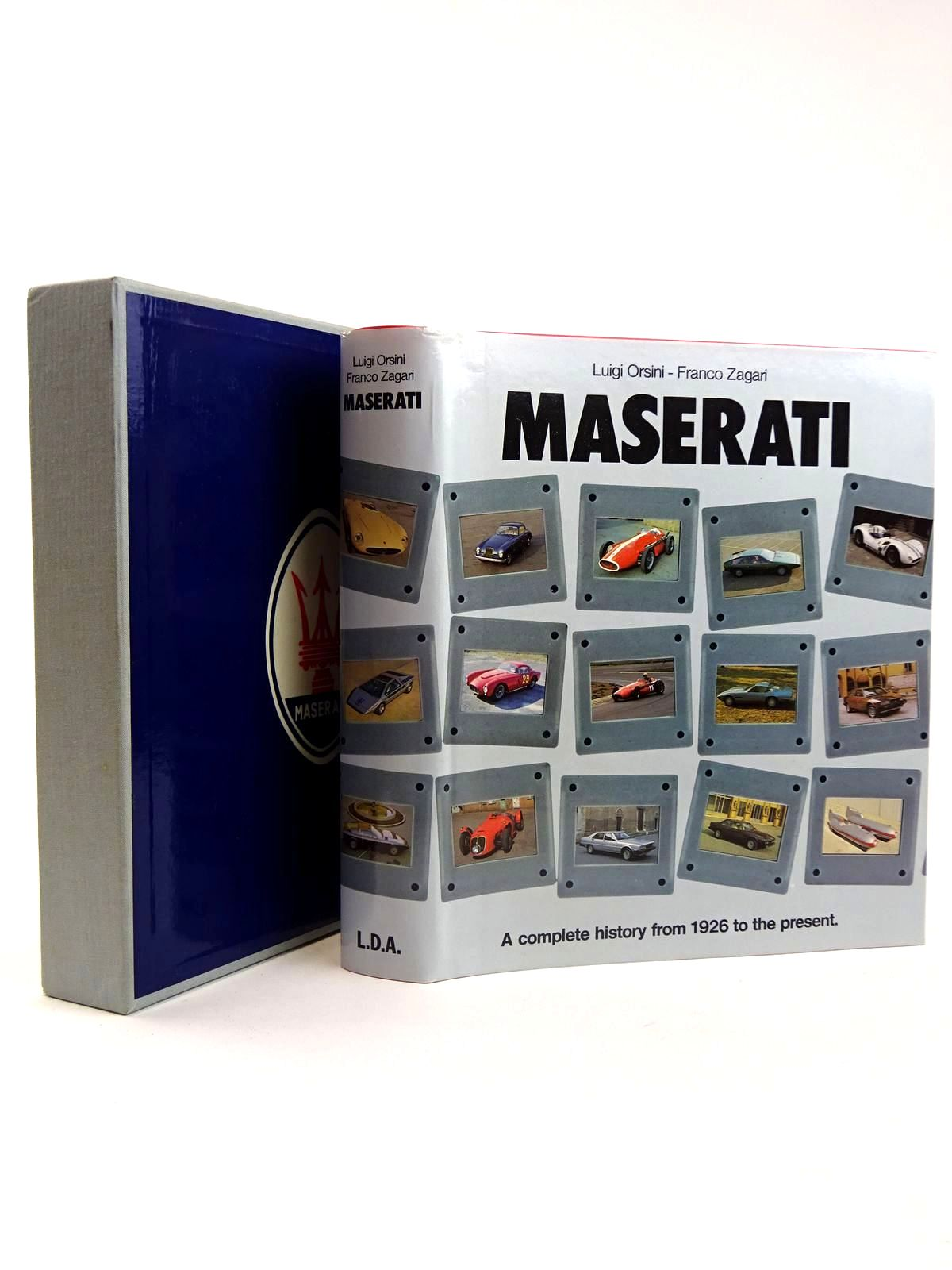 Photo of MASERATI written by Orsini, Luigi<br />Zagari, Franco published by Libreria Dell'Automobile (STOCK CODE: 2131693)  for sale by Stella & Rose's Books