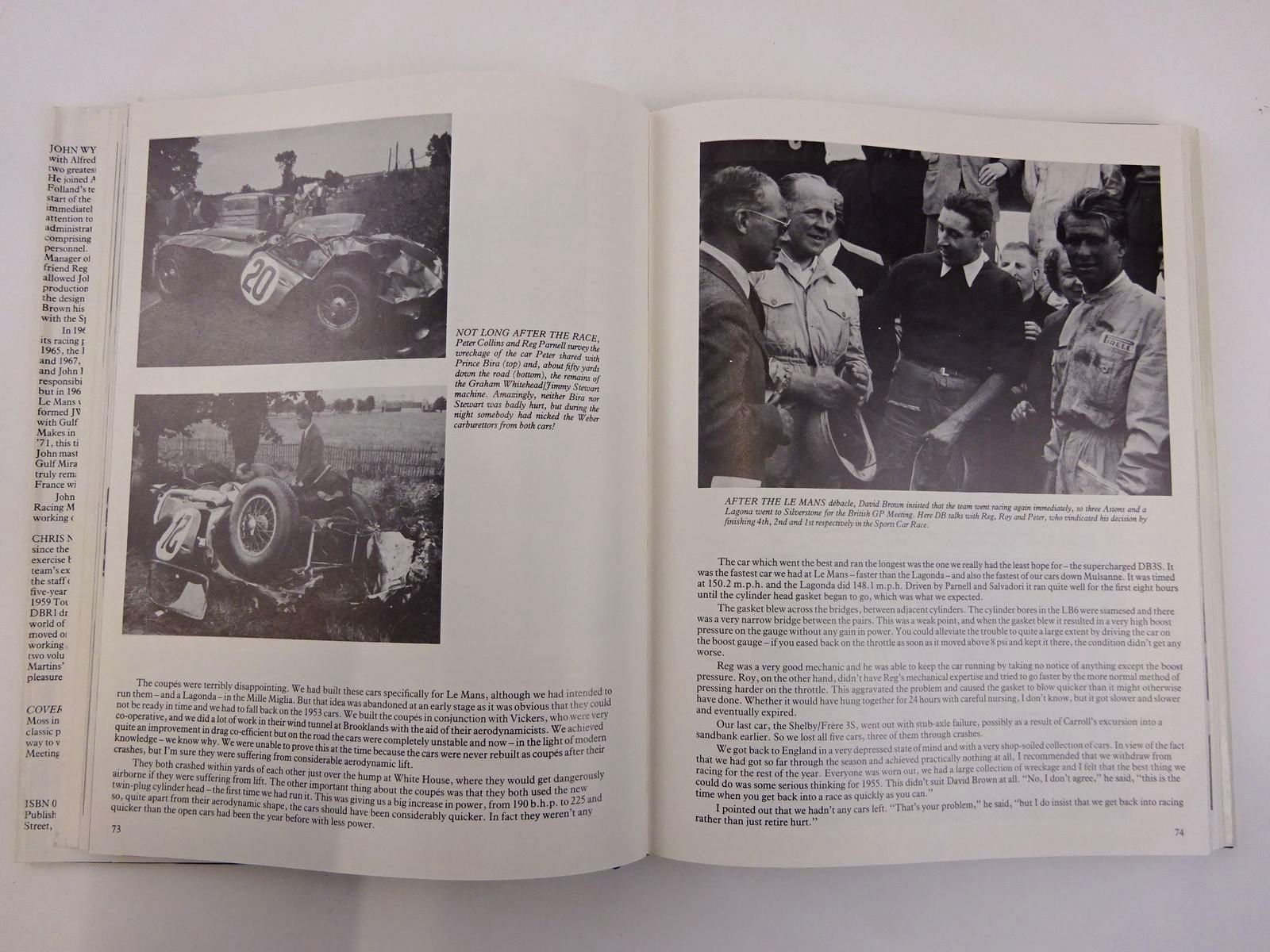 Photo of RACING WITH THE DAVID BROWN ASTON MARTINS VOL. 1 written by Wyer, John Nixon, Chris published by Transport Bookman Publications (STOCK CODE: 2131696)  for sale by Stella & Rose's Books