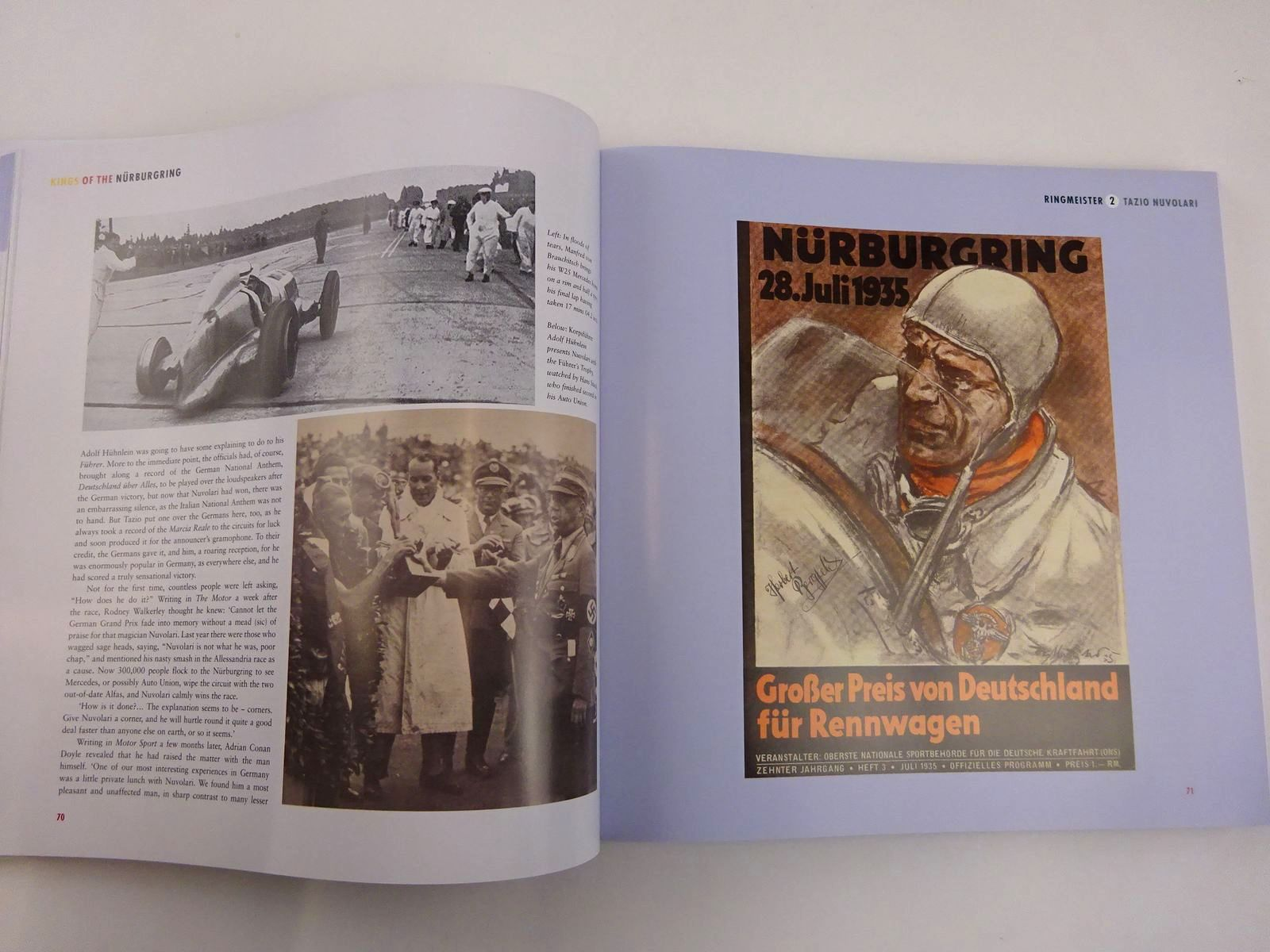 Photo of KINGS OF THE NURBURGRING written by Nixon, Chris published by Transport Bookman Publications (STOCK CODE: 2131698)  for sale by Stella & Rose's Books