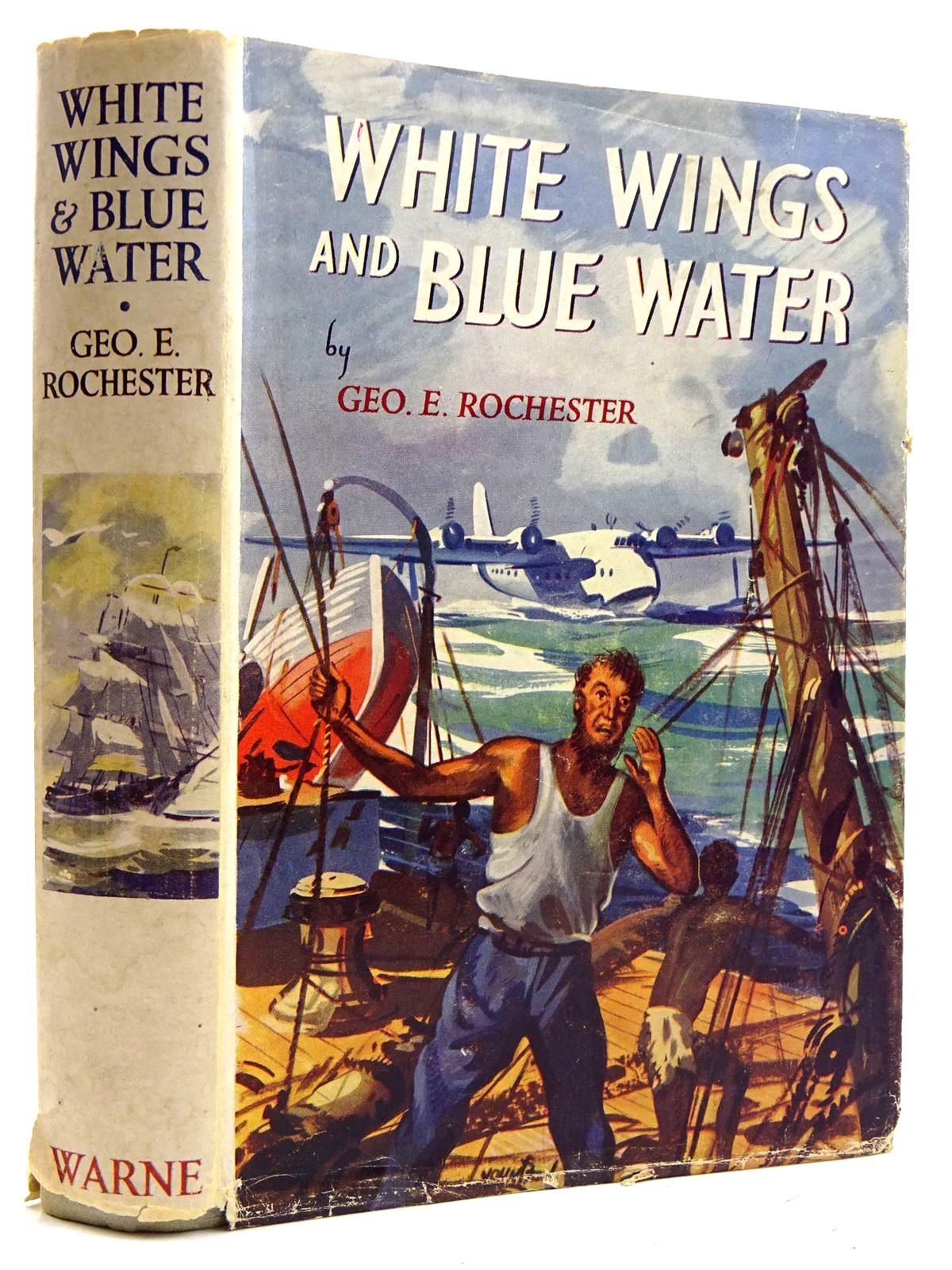 Photo of WHITE WINGS AND BLUE WATER written by Rochester, George E. published by Frederick Warne & Co Ltd. (STOCK CODE: 2131713)  for sale by Stella & Rose's Books
