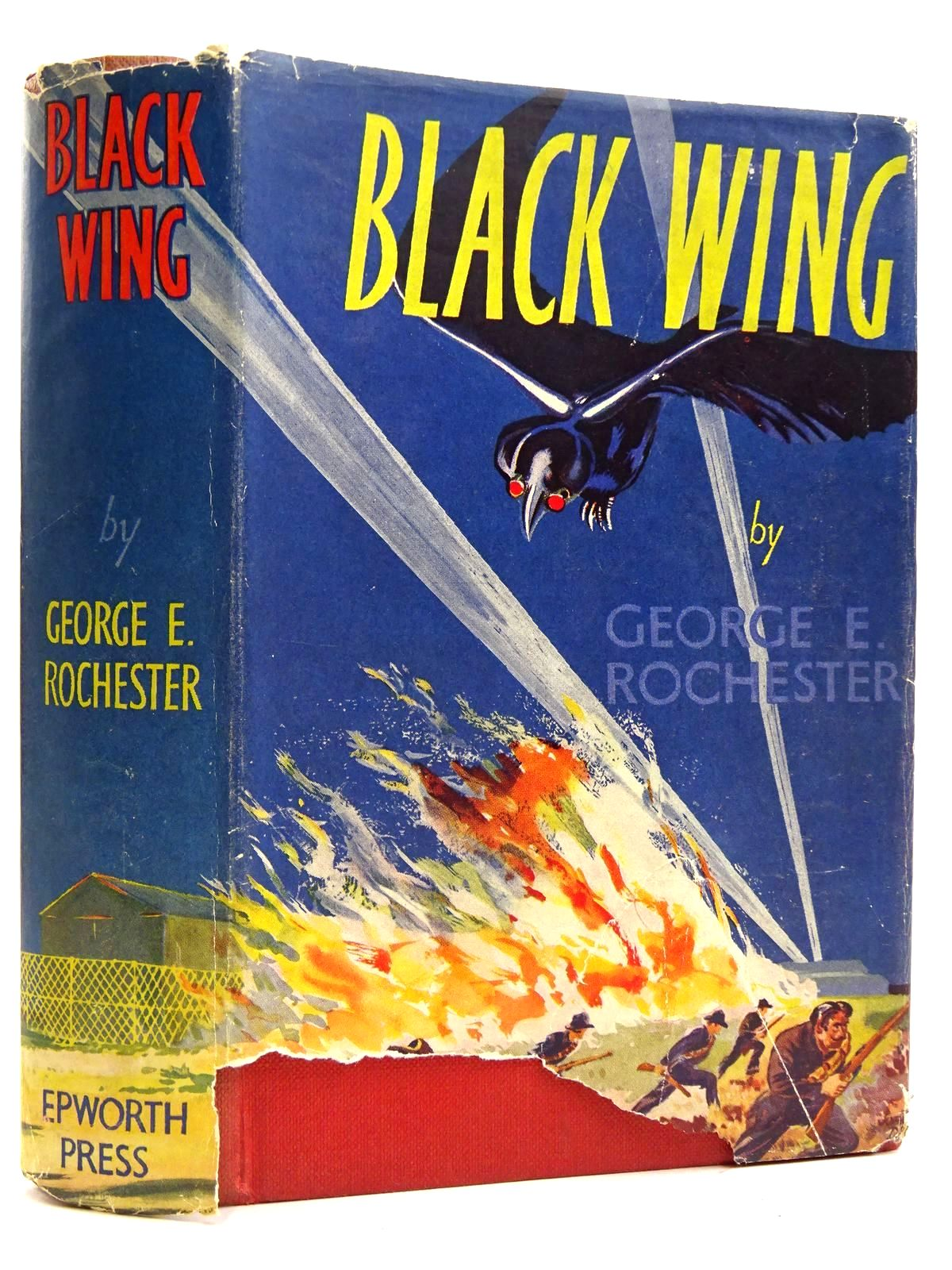 Photo of BLACK WING written by Rochester, George E. illustrated by Drever, John published by The Epworth Press (STOCK CODE: 2131714)  for sale by Stella & Rose's Books