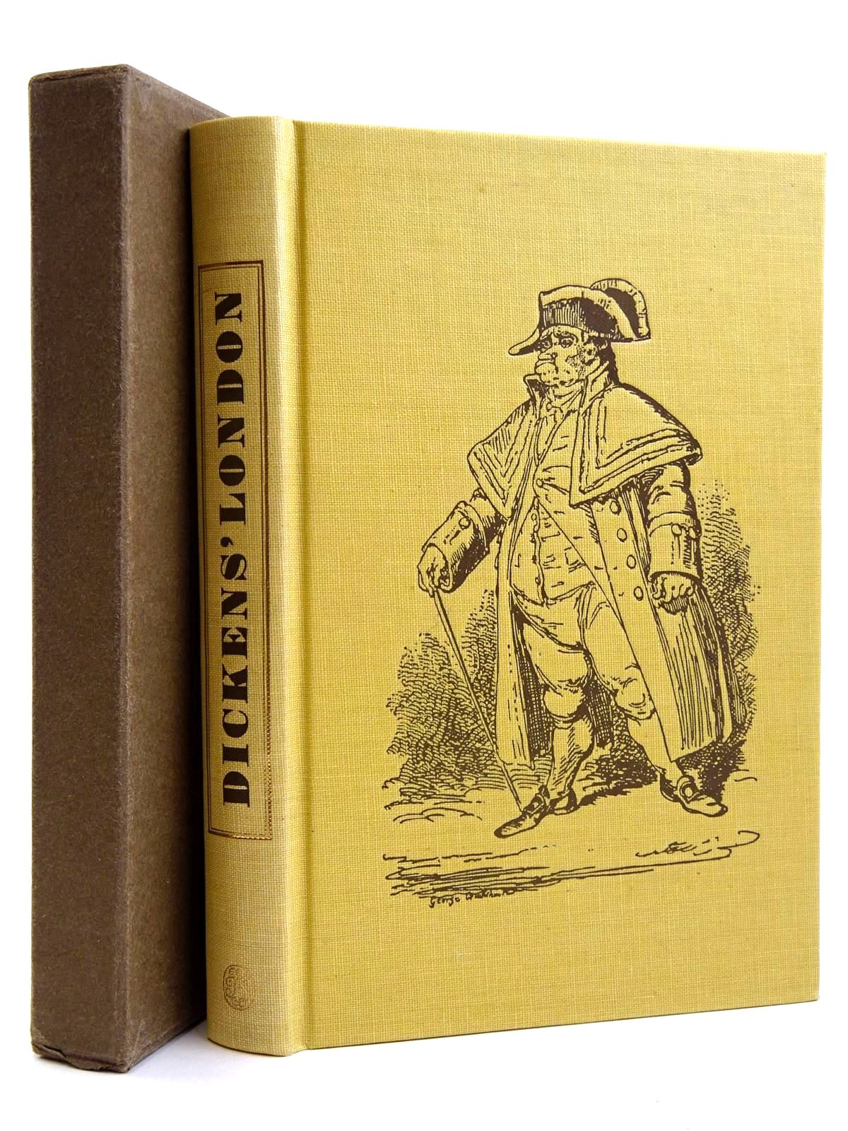 Photo of DICKENS' LONDON written by Dickens, Charles Vallance, Rosalind illustrated by Cruikshank, George published by Folio Society (STOCK CODE: 2131716)  for sale by Stella & Rose's Books