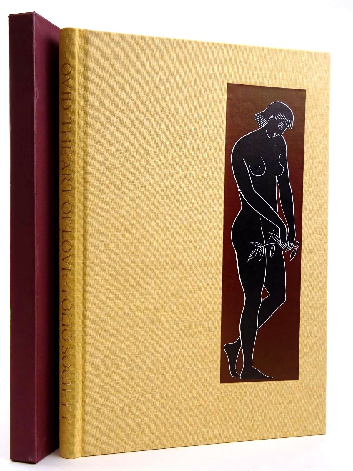 Photo of THE ART OF LOVE written by Ovid,  Naso, Publius Ovidius Michie, James illustrated by Baker, Grahame published by Folio Society (STOCK CODE: 2131719)  for sale by Stella & Rose's Books