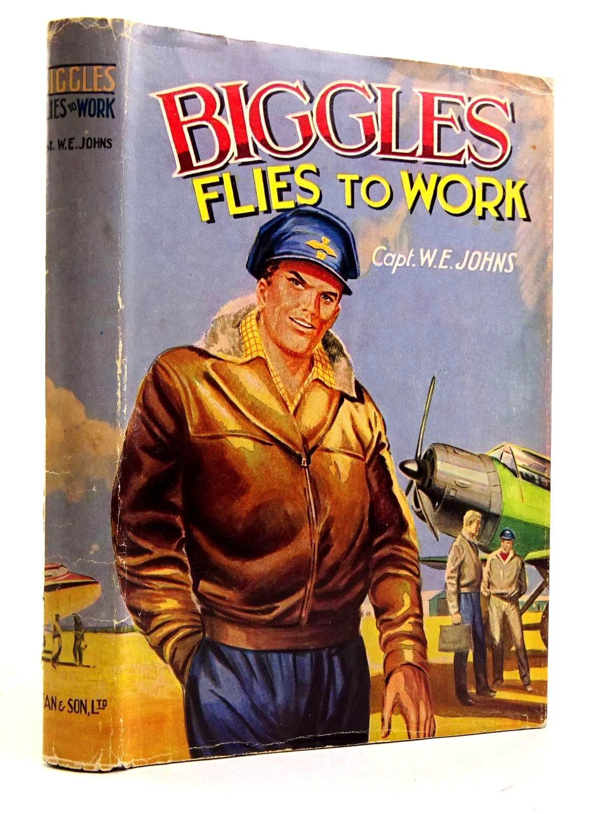 Photo of BIGGLES FLIES TO WORK written by Johns, W.E. published by Dean & Son Ltd. (STOCK CODE: 2131729)  for sale by Stella & Rose's Books