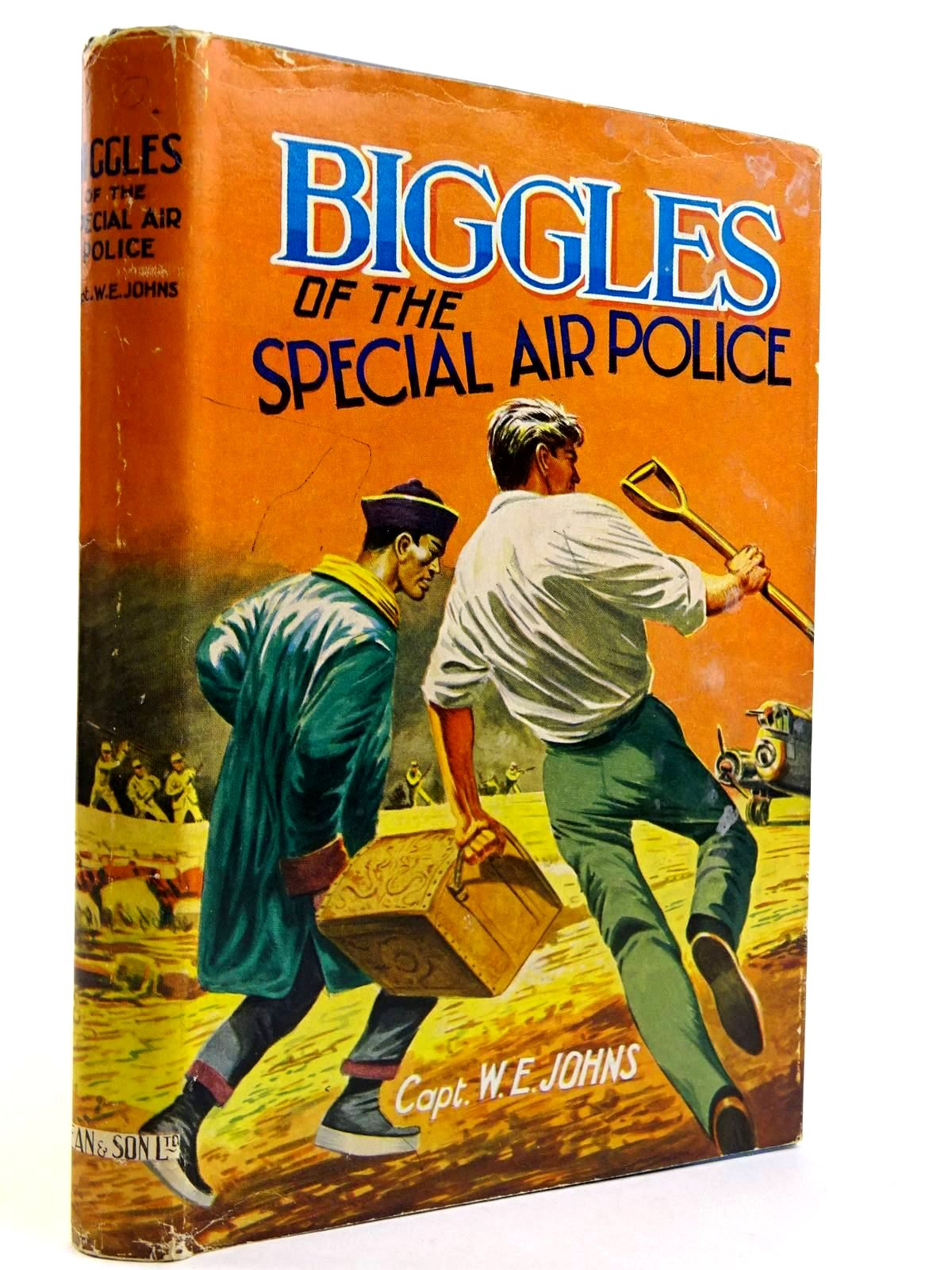 Photo of BIGGLES OF THE SPECIAL AIR POLICE written by Johns, W.E. published by Dean & Son Ltd. (STOCK CODE: 2131735)  for sale by Stella & Rose's Books