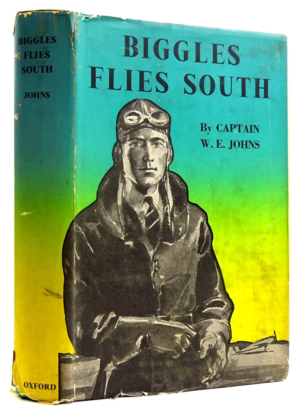 Photo of BIGGLES FLIES SOUTH written by Johns, W.E. illustrated by Nicolle, Jack published by Geoffrey Cumberlege, Oxford University Press (STOCK CODE: 2131737)  for sale by Stella & Rose's Books
