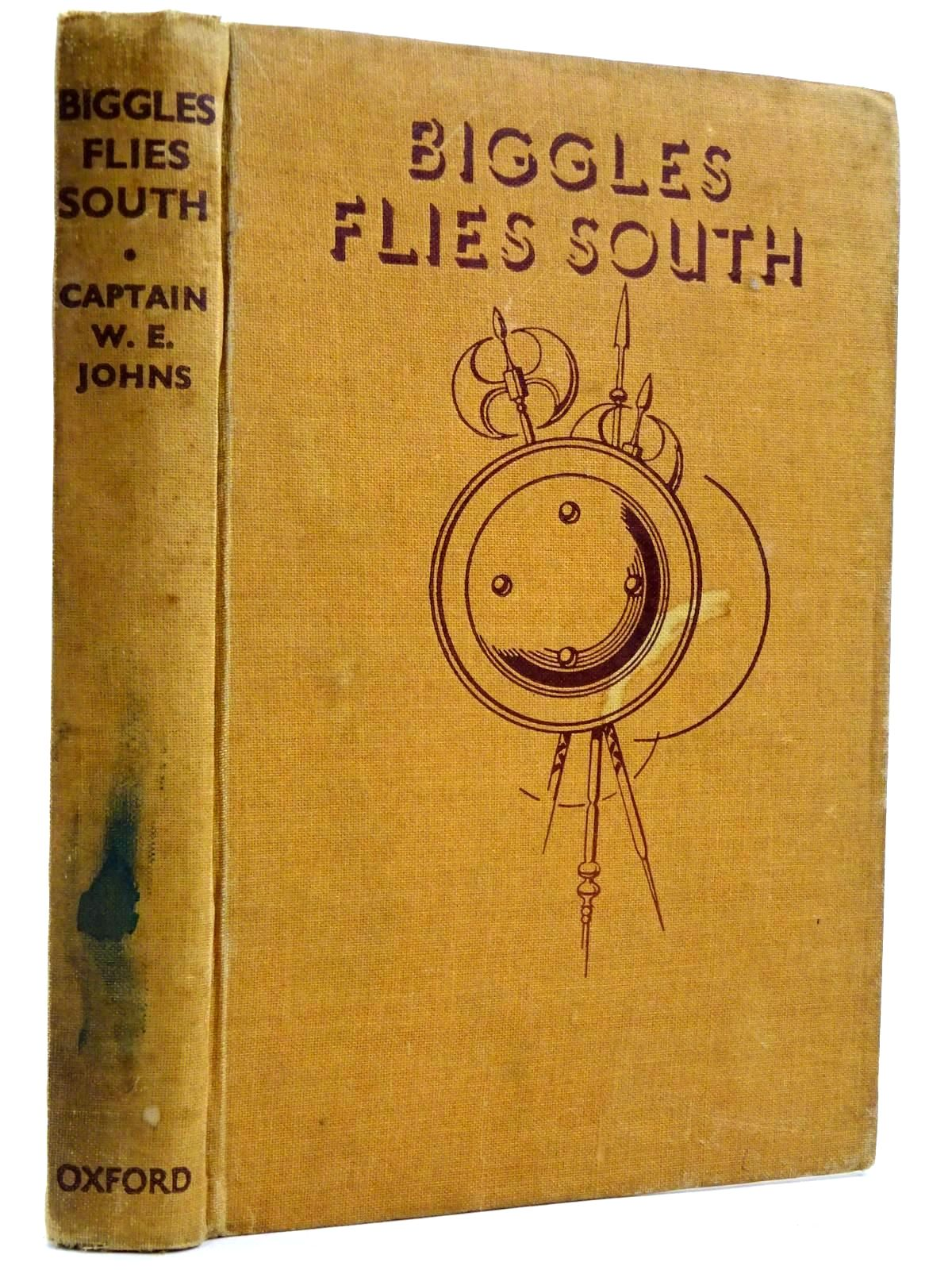 Photo of BIGGLES FLIES SOUTH written by Johns, W.E. illustrated by Nicolle, Jack<br />Leigh, Howard published by Oxford University Press (STOCK CODE: 2131740)  for sale by Stella & Rose's Books