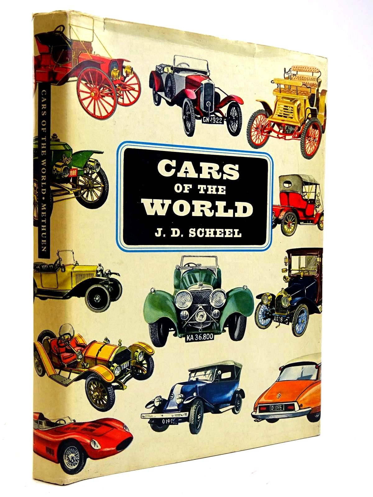 Photo of CARS OF THE WORLD written by Scheel, J.D. Cook-Radmore, D. illustrated by Hancke, Verner published by Methuen & Co. Ltd. (STOCK CODE: 2131759)  for sale by Stella & Rose's Books