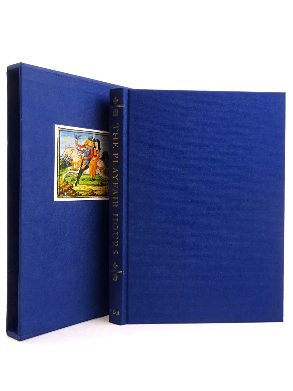 Photo of THE PLAYFAIR HOURS written by Watson, Rowan published by Victoria & Albert Museum, Folio Society (STOCK CODE: 2131761)  for sale by Stella & Rose's Books