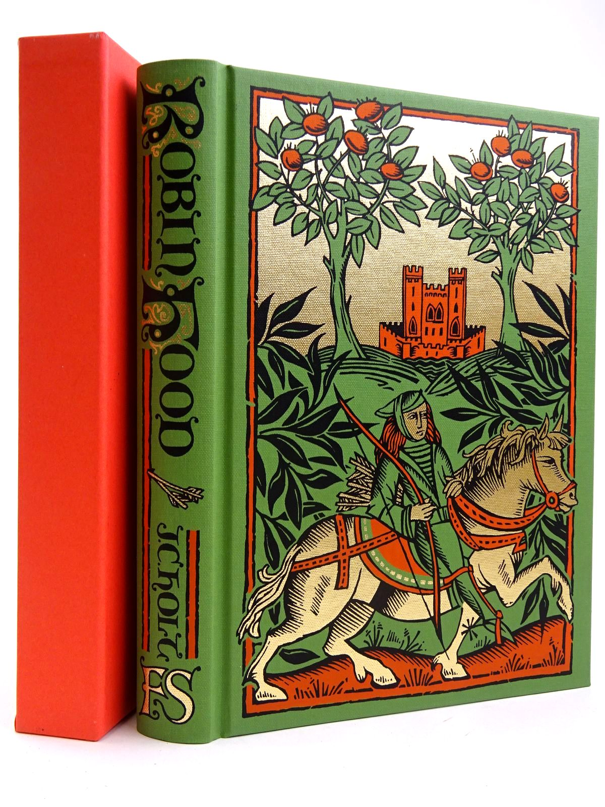 Photo of ROBIN HOOD written by Holt, J.C. published by Folio Society (STOCK CODE: 2131762)  for sale by Stella & Rose's Books