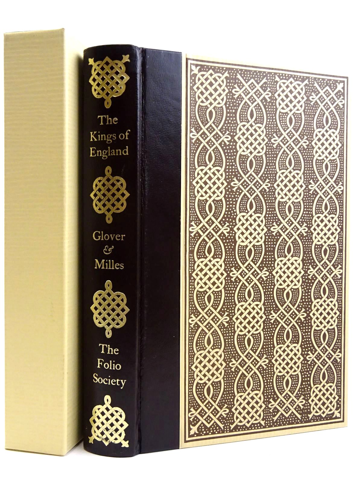 Photo of THE KINGS OF ENGLAND EVER SINCE IT WAS SO CALLED written by Glover, Robert Milles, Thomas published by Folio Society (STOCK CODE: 2131763)  for sale by Stella & Rose's Books