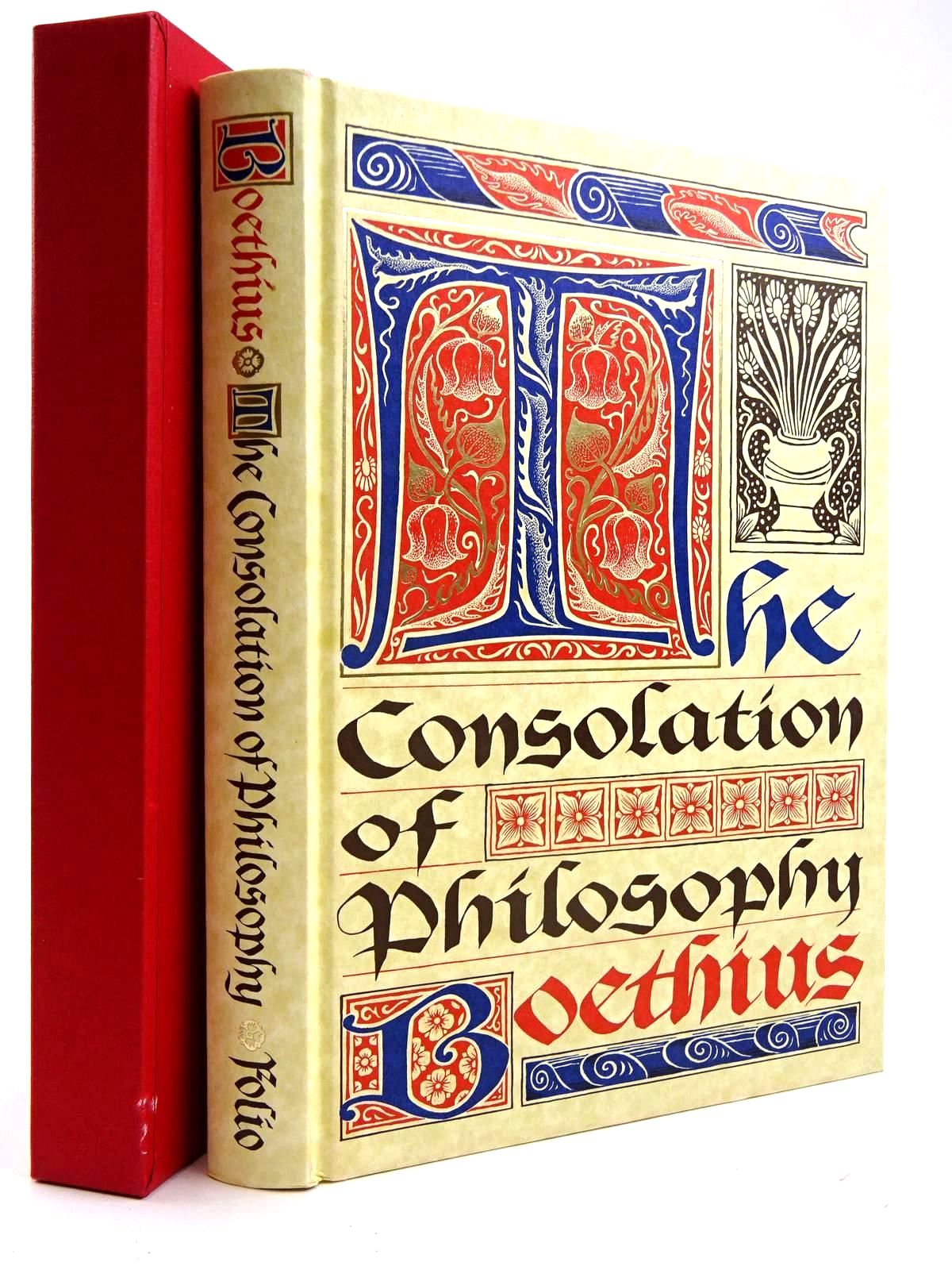 Photo of THE CONSOLATION OF PHILOSOPHY written by Boethius,  Watts, V.E. published by Folio Society (STOCK CODE: 2131765)  for sale by Stella & Rose's Books