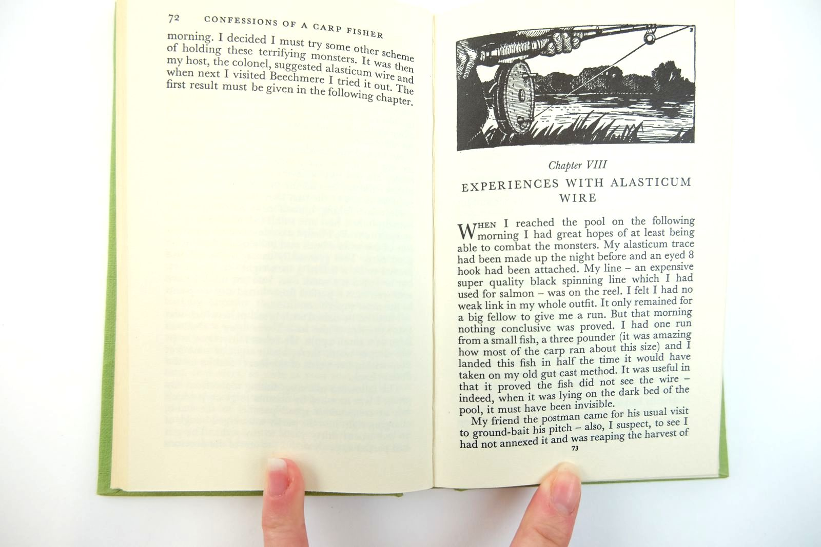Photo of CONFESSIONS OF A CARP FISHER written by BB,  illustrated by BB,  published by H.F. & G. Witherby Ltd. (STOCK CODE: 2131768)  for sale by Stella & Rose's Books