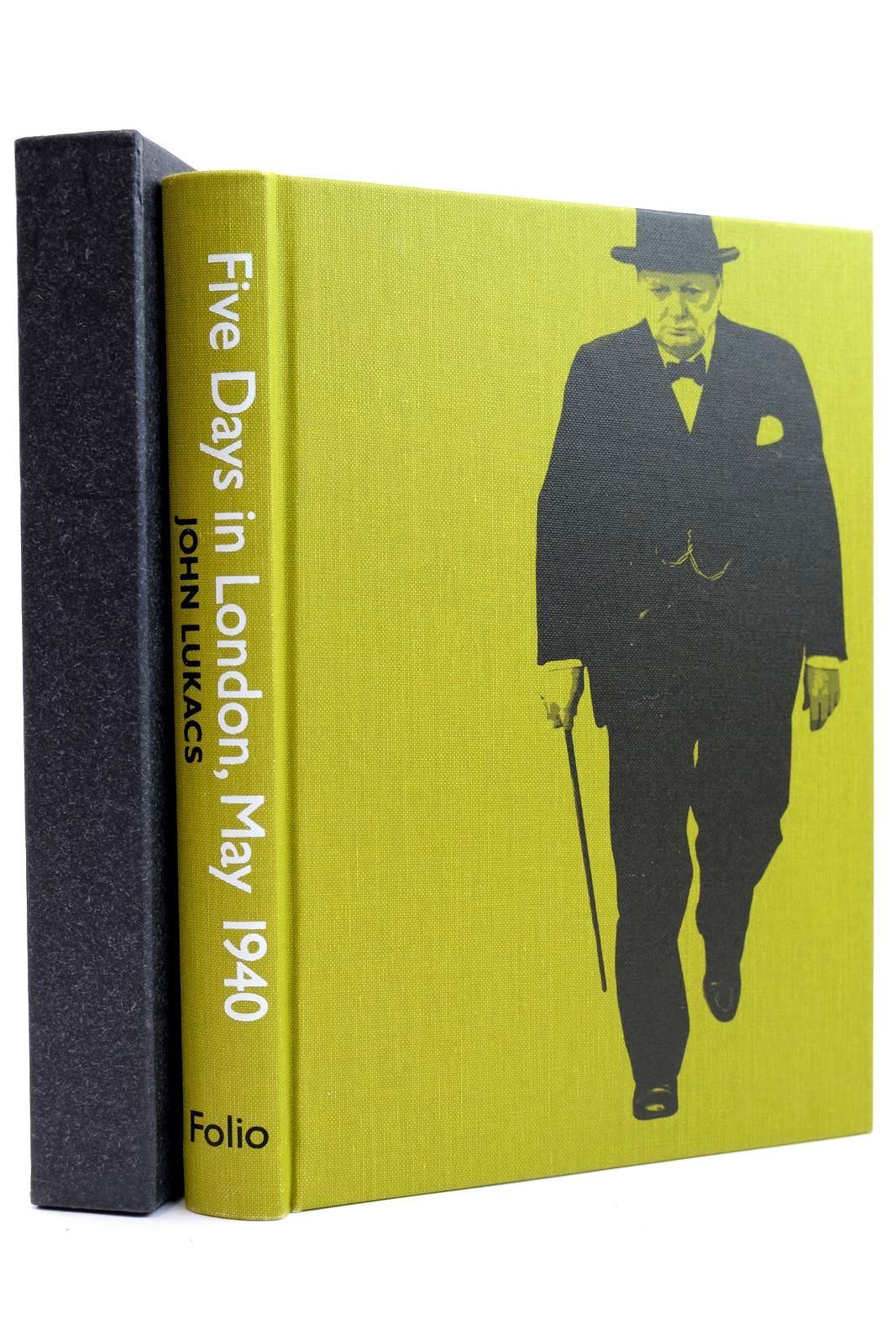 Photo of FIVE DAYS IN LONDON, MAY 1940 written by Lukacs, John Ziegler, Philip published by Folio Society (STOCK CODE: 2131802)  for sale by Stella & Rose's Books