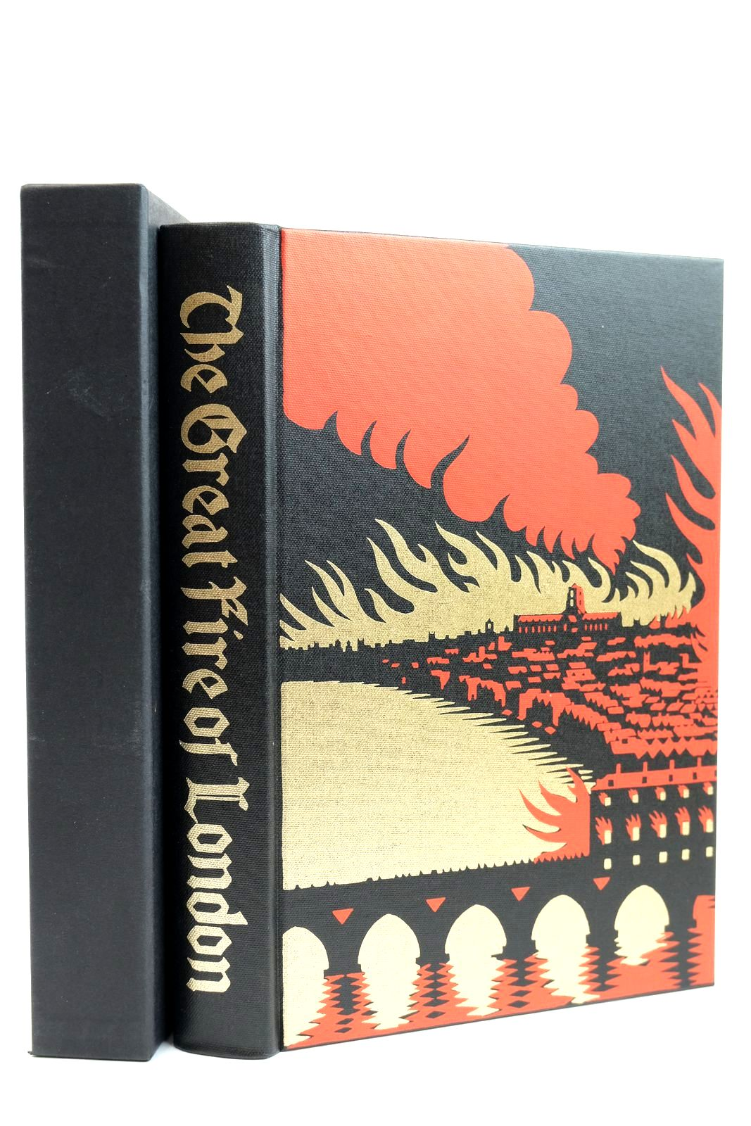 Photo of THE GREAT FIRE OF LONDON IN 1666 written by Bell, Walter George published by Folio Society (STOCK CODE: 2131804)  for sale by Stella & Rose's Books