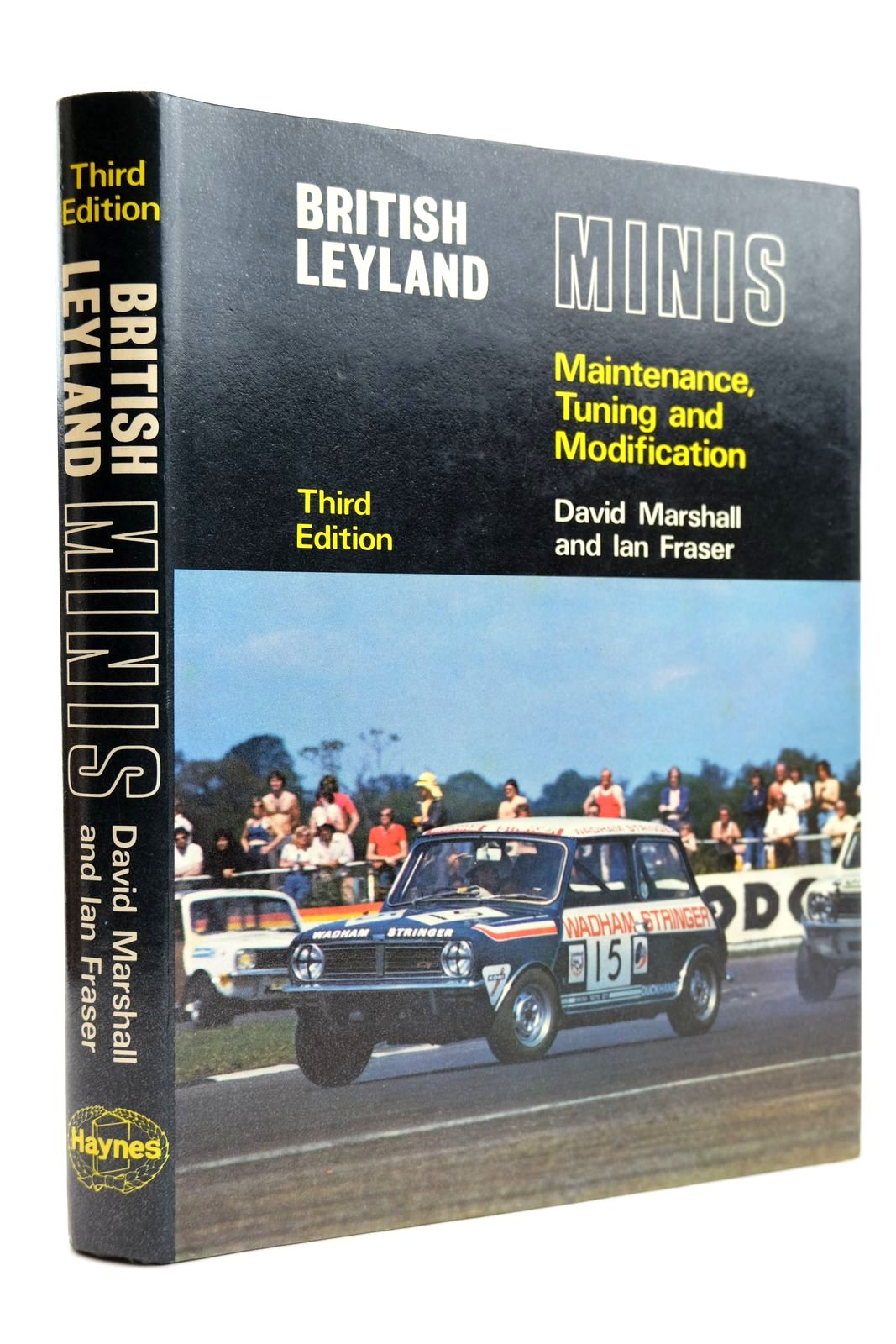 Photo of BRITISH LEYLAND MINIS written by Marshall, David Fraser, Ian published by G.T. Foulis (STOCK CODE: 2131815)  for sale by Stella & Rose's Books
