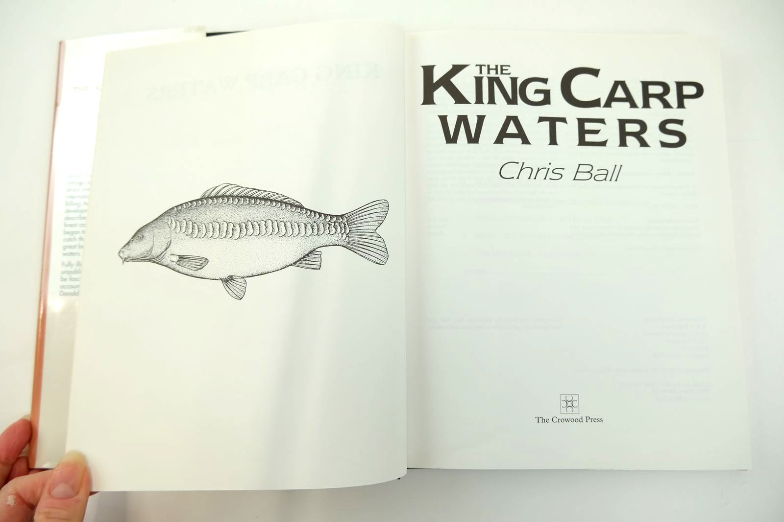 Photo of THE KING CARP WATERS written by Ball, Chris published by The Crowood Press (STOCK CODE: 2131849)  for sale by Stella & Rose's Books