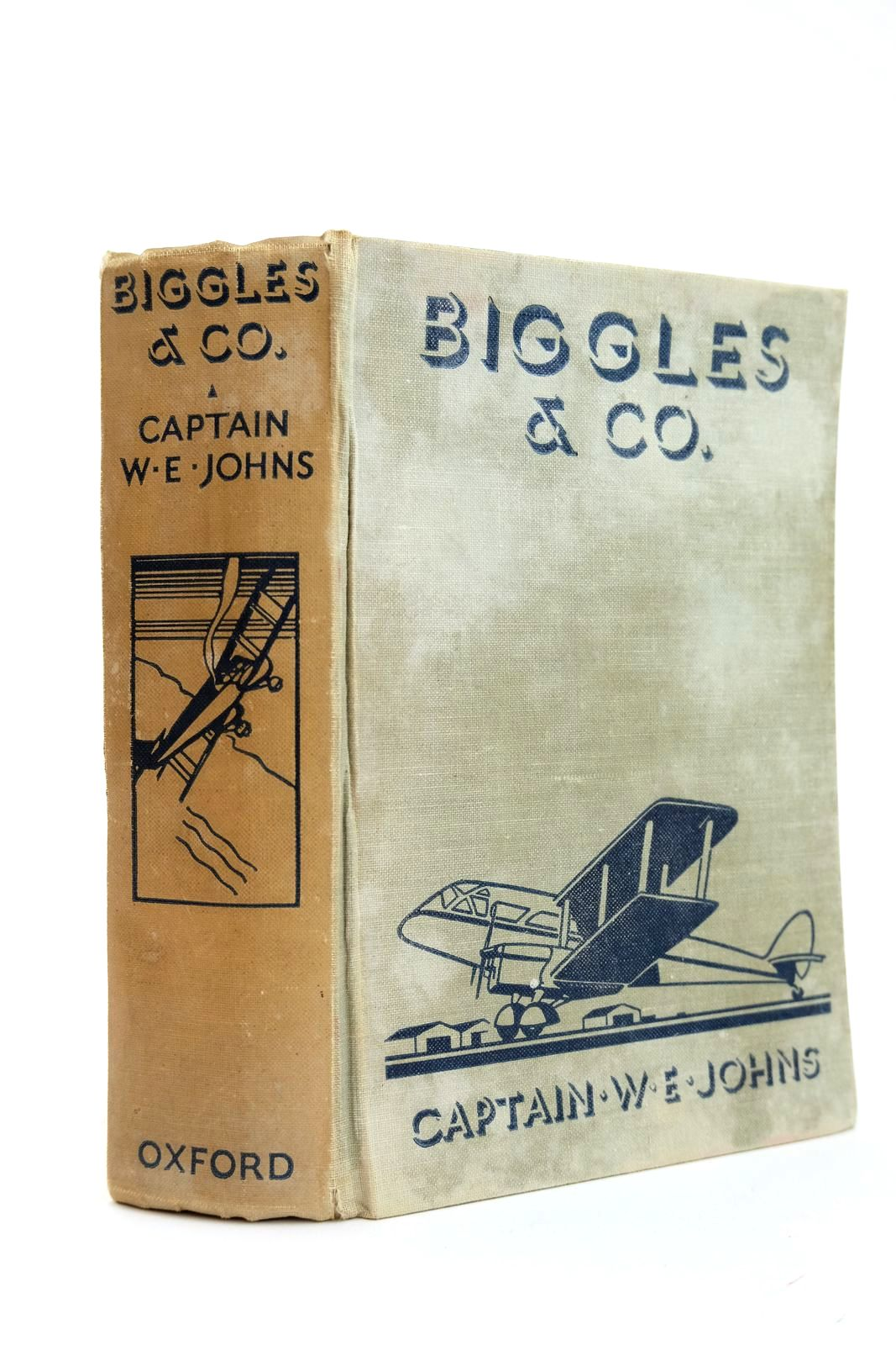 Photo of BIGGLES & CO. written by Johns, W.E. illustrated by Leigh, Howard<br />Sindall, Alfred published by Oxford University Press, Humphrey Milford (STOCK CODE: 2131857)  for sale by Stella & Rose's Books