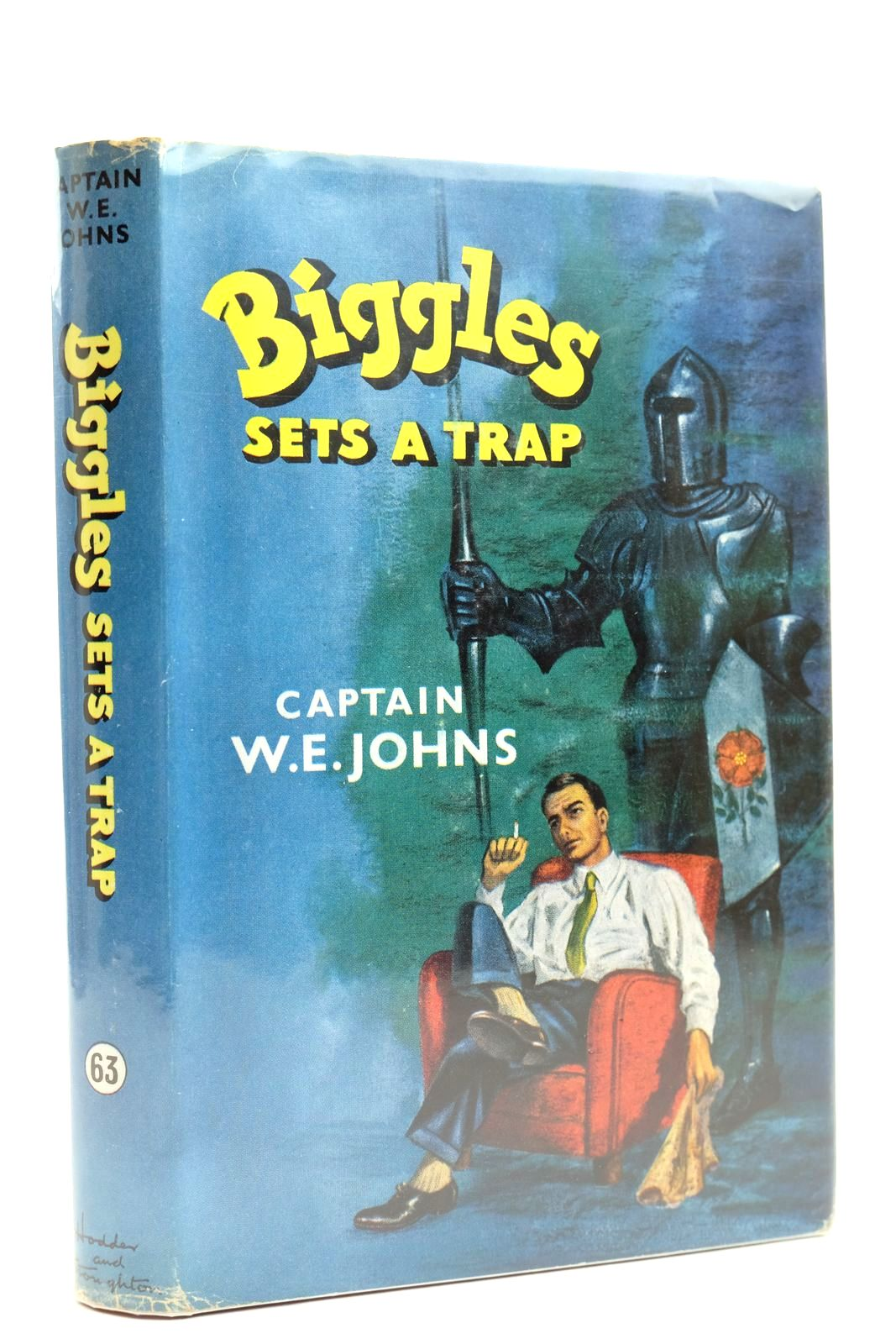 Photo of BIGGLES SETS A TRAP- Stock Number: 2131858