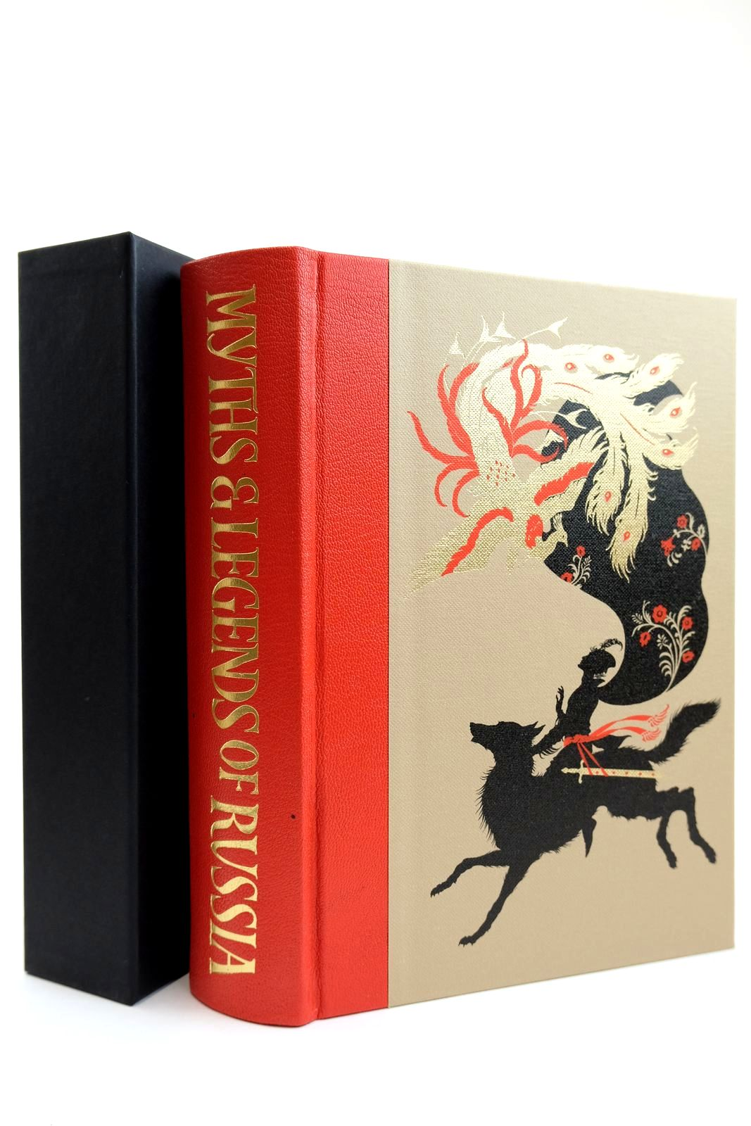 Photo of MYTHS AND LEGENDS OF RUSSIA written by Afanas'Ev, Aleksandr<br />Guterman, Norbert<br />Tatar, Maria illustrated by Puttapipat, Niroot published by Folio Society (STOCK CODE: 2131863)  for sale by Stella & Rose's Books