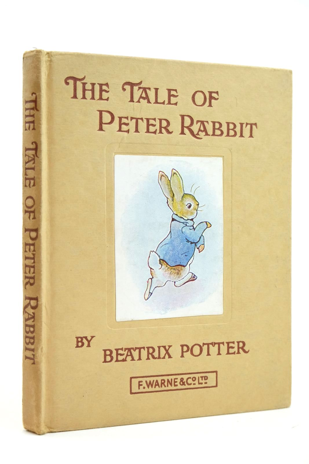 Photo of THE TALE OF PETER RABBIT written by Potter, Beatrix illustrated by Potter, Beatrix published by Frederick Warne & Co Ltd. (STOCK CODE: 2131890)  for sale by Stella & Rose's Books