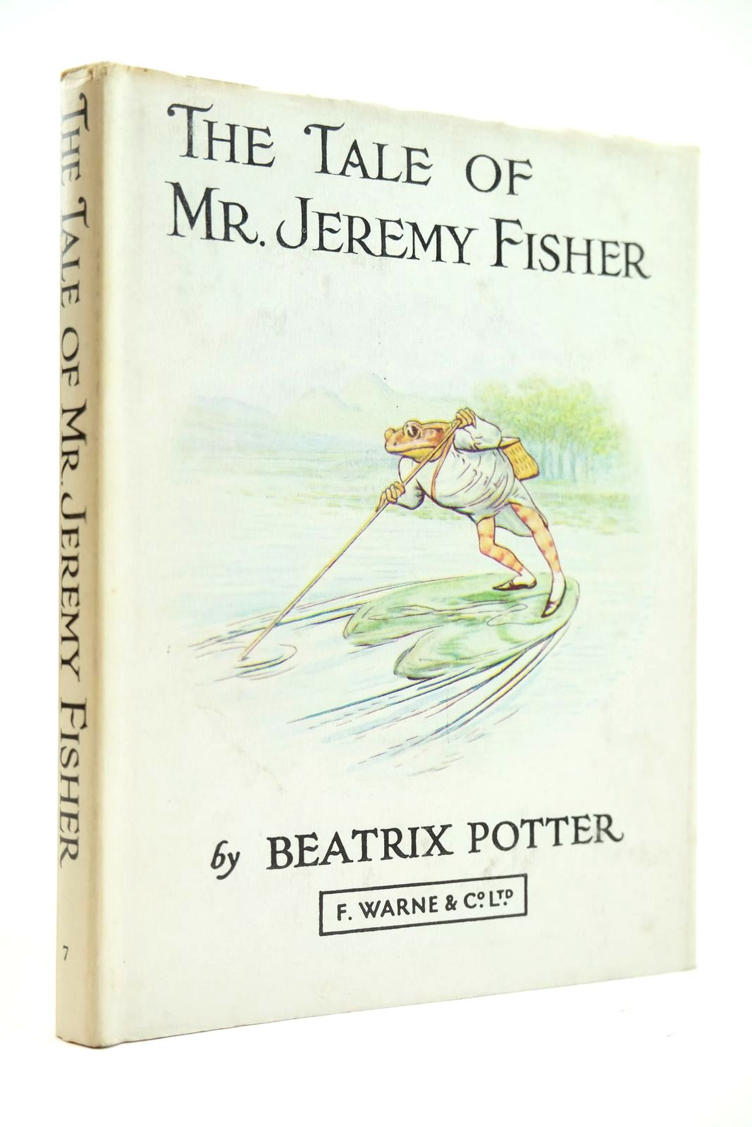 Photo of THE TALE OF MR. JEREMY FISHER written by Potter, Beatrix illustrated by Potter, Beatrix published by Frederick Warne & Co Ltd. (STOCK CODE: 2131896)  for sale by Stella & Rose's Books