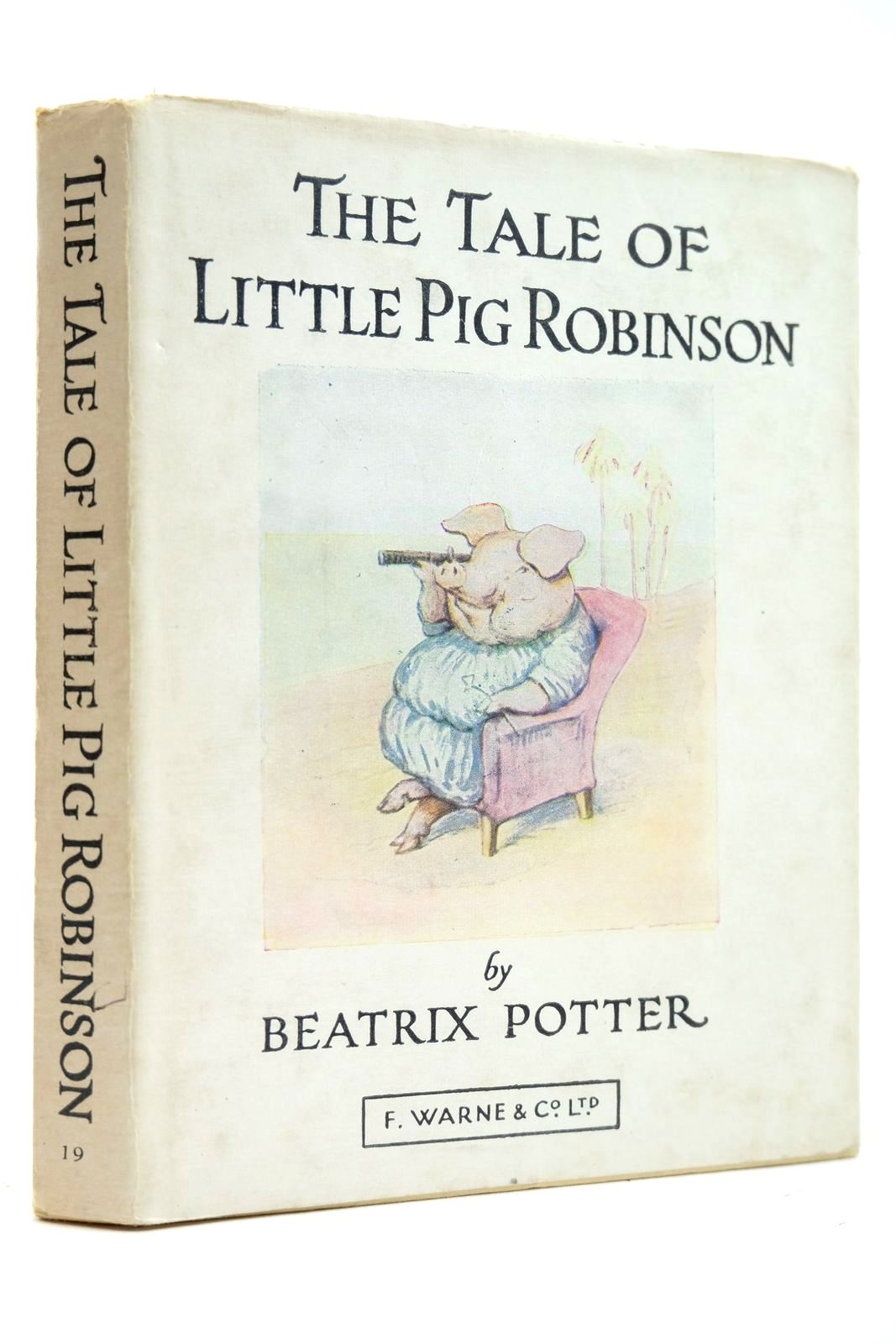 Photo of THE TALE OF LITTLE PIG ROBINSON written by Potter, Beatrix illustrated by Potter, Beatrix published by Frederick Warne & Co Ltd. (STOCK CODE: 2131897)  for sale by Stella & Rose's Books