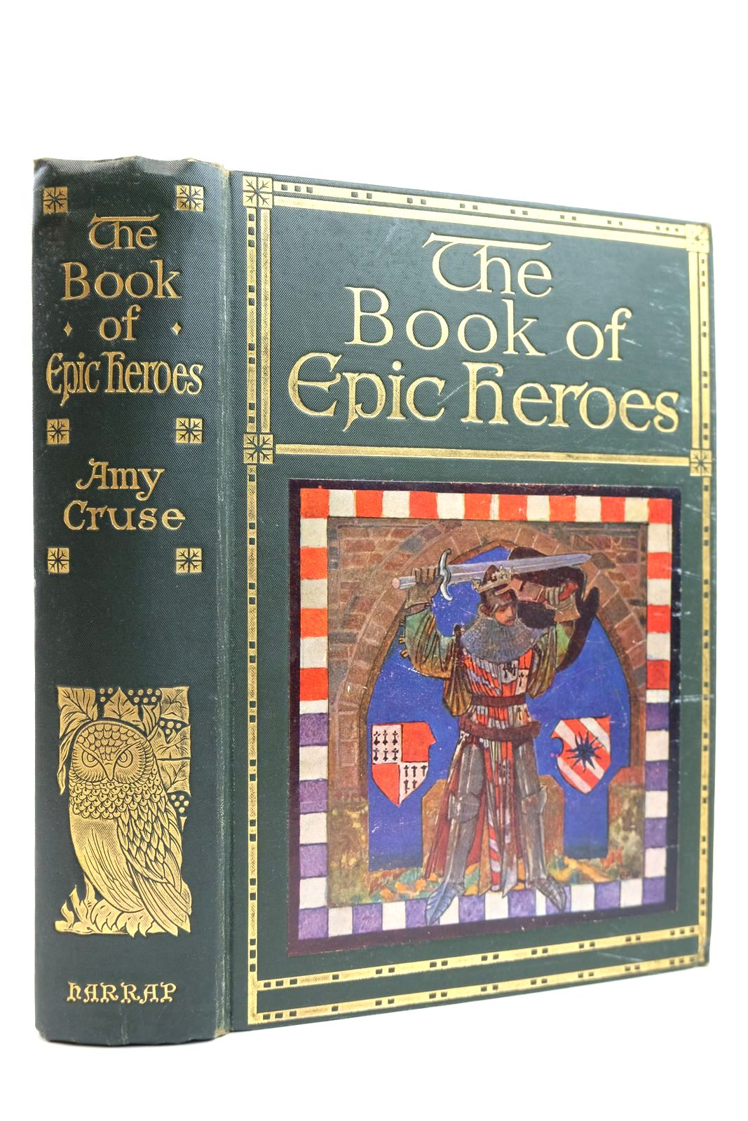 Photo of THE BOOK OF EPIC HEROES- Stock Number: 2131903