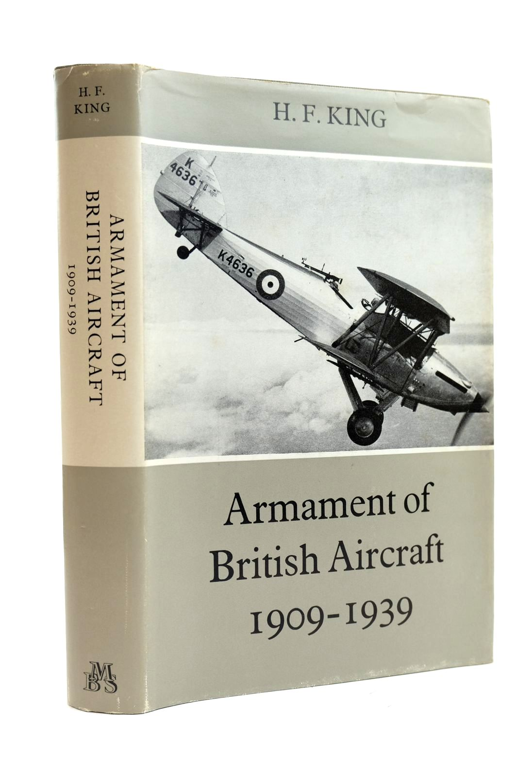 Photo of ARMAMENT OF BRITISH AIRCRAFT 1909-1939 written by King, H.F. published by Military Book Society (STOCK CODE: 2131905)  for sale by Stella & Rose's Books