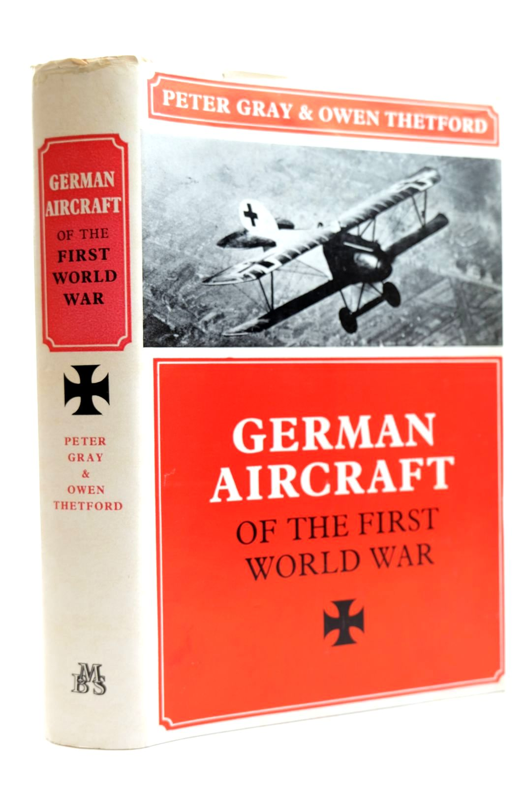 Photo of GERMAN AIRCRAFT OF THE FIRST WORLD WAR written by Gray, Peter Thetford, Owen published by Military Book Society (STOCK CODE: 2131917)  for sale by Stella & Rose's Books