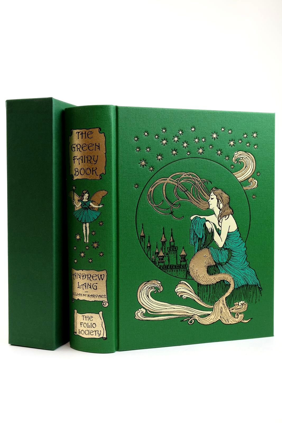 Photo of THE GREEN FAIRY BOOK written by Lang, Andrew illustrated by De Harvaez, Julian published by Folio Society (STOCK CODE: 2131923)  for sale by Stella & Rose's Books