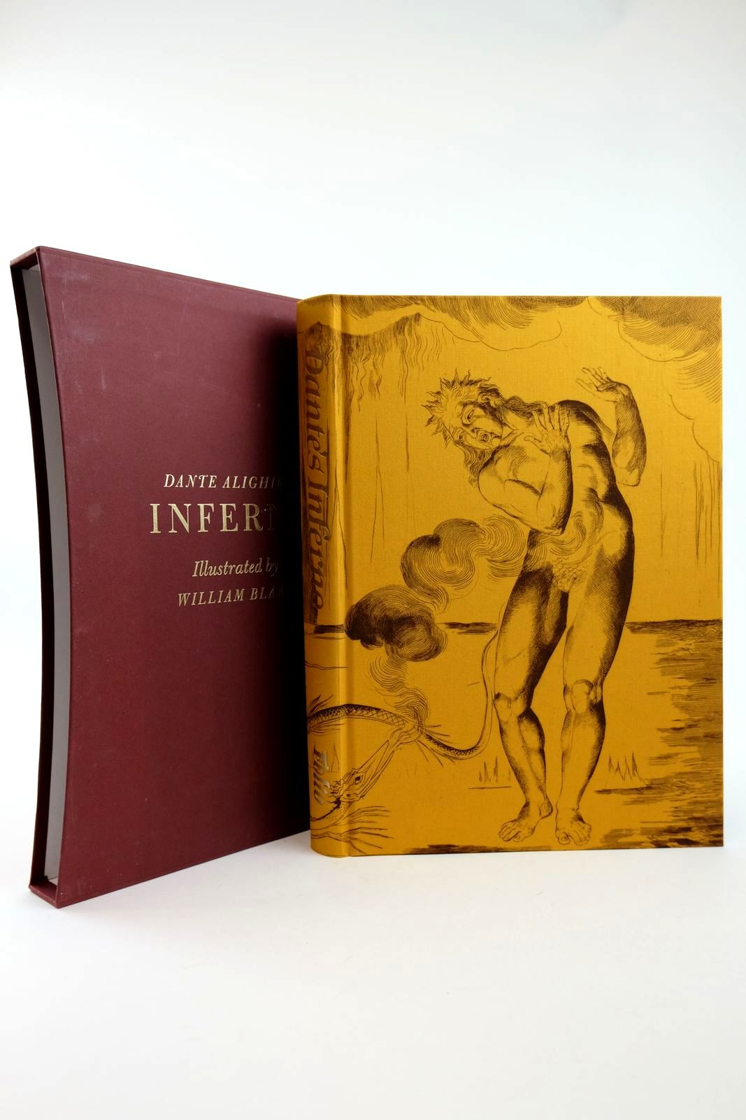 Photo of INFERNO written by Alighieri, Dante Cary, Henry Francis Hamlyn, Robin illustrated by Blake, William published by Folio Society (STOCK CODE: 2131927)  for sale by Stella & Rose's Books
