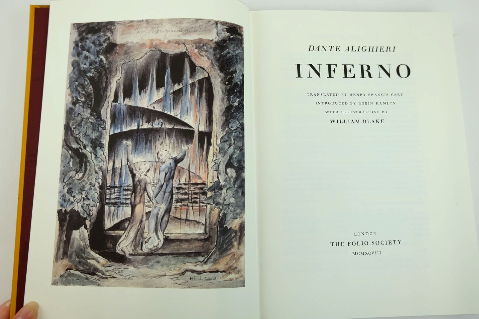 Photo of INFERNO written by Alighieri, Dante